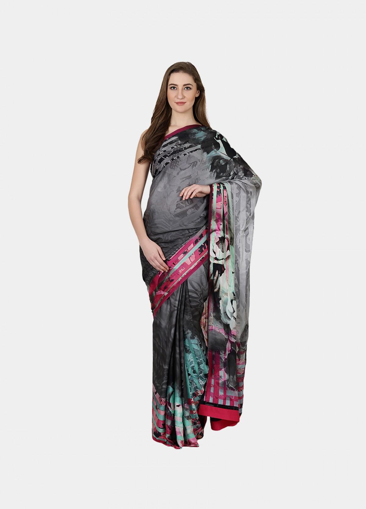 The Indian Rose Sari
