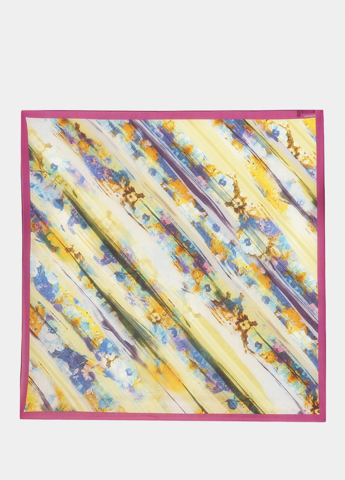 The Pink Silk Scarf