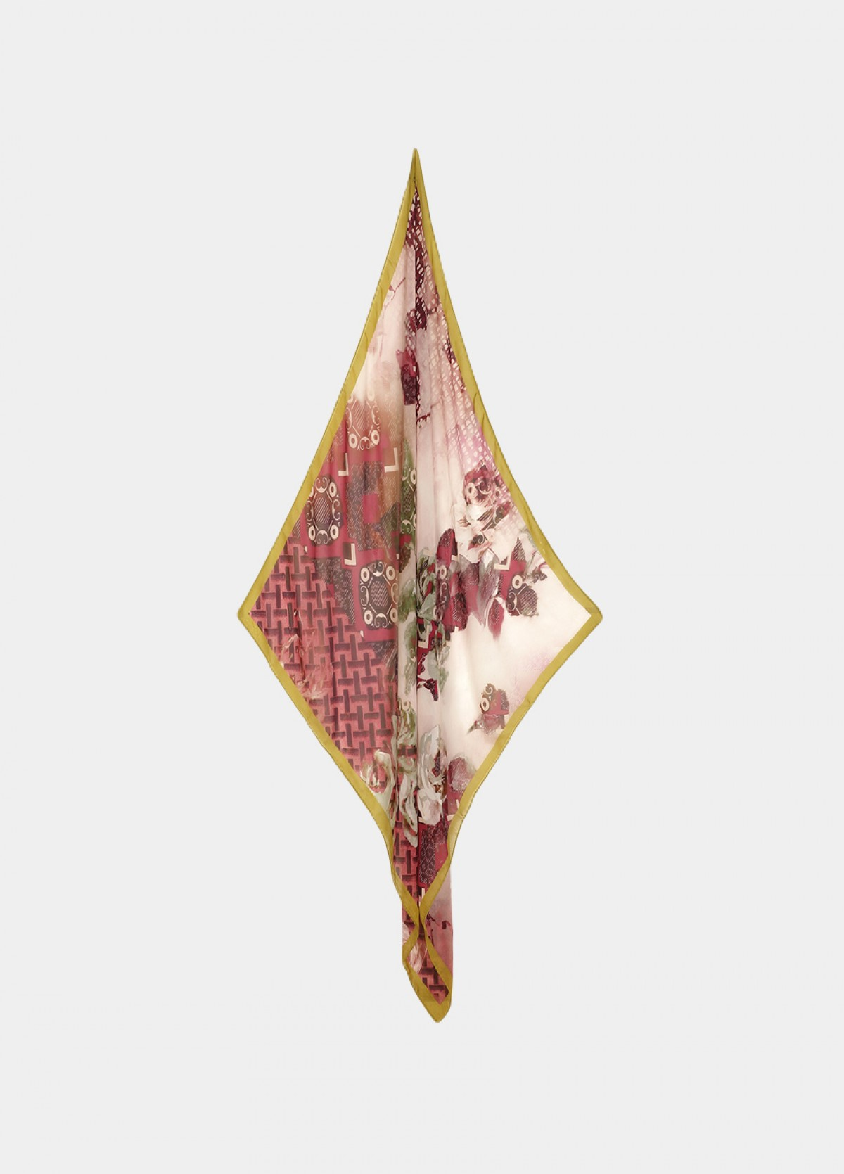 The Red Silk Scarf