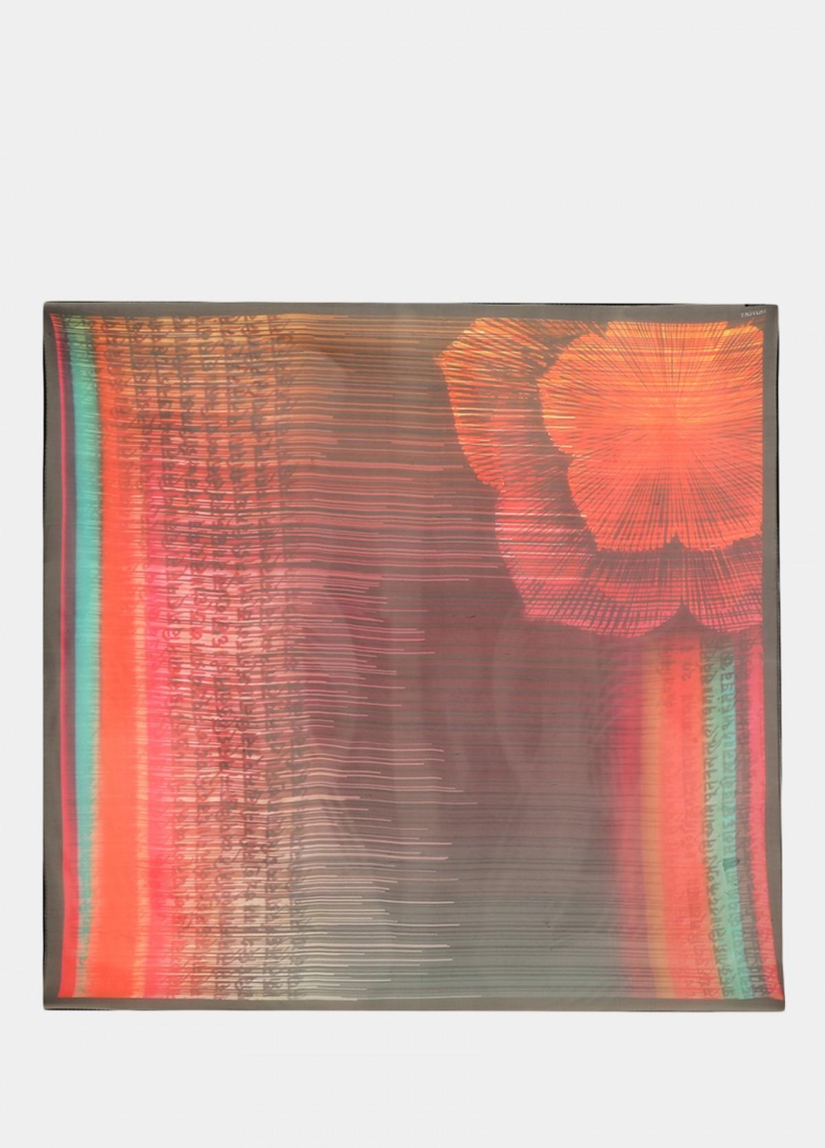 The Pink Dark Silk Scarf