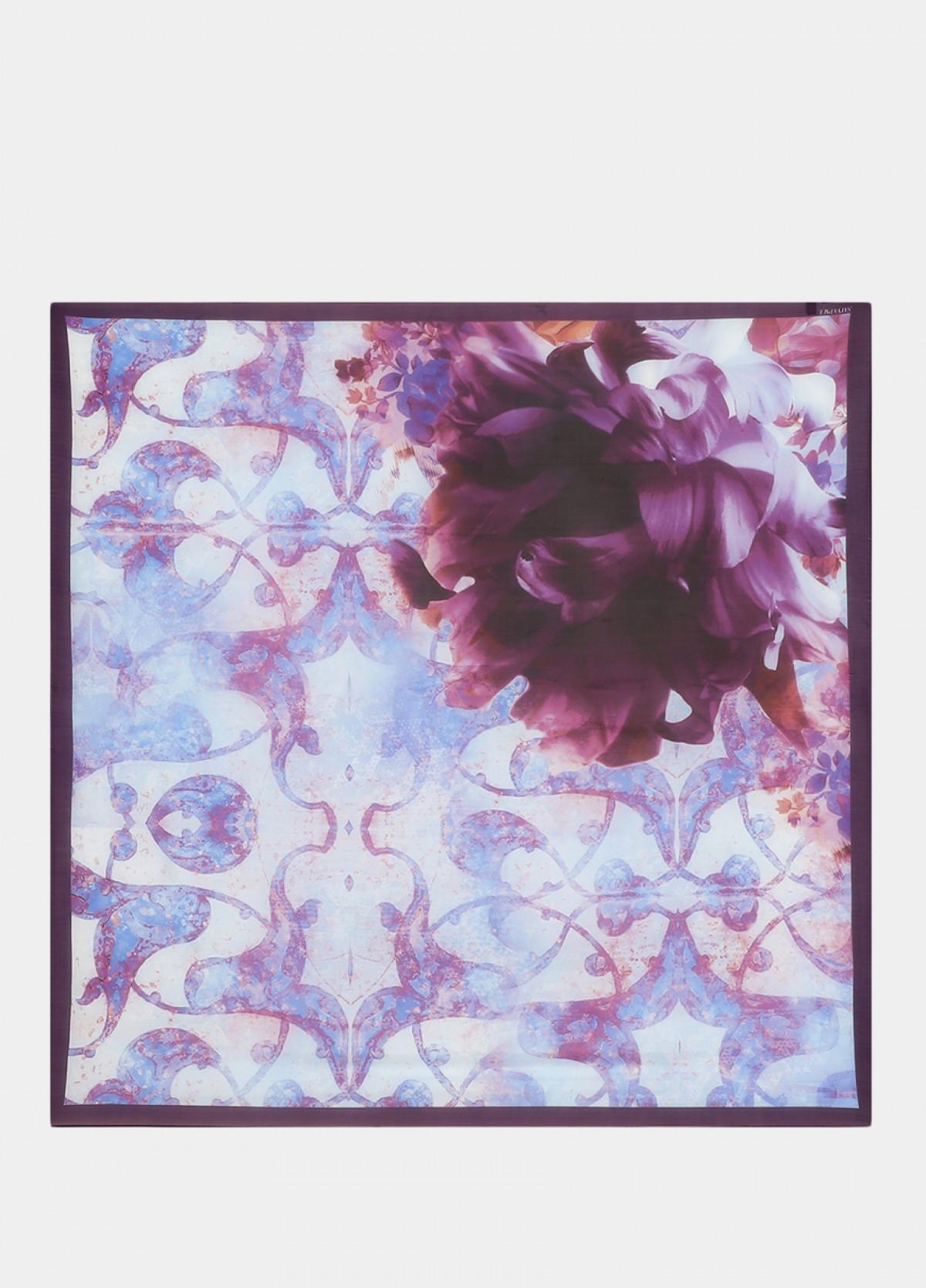 The Purple Silk Scarf