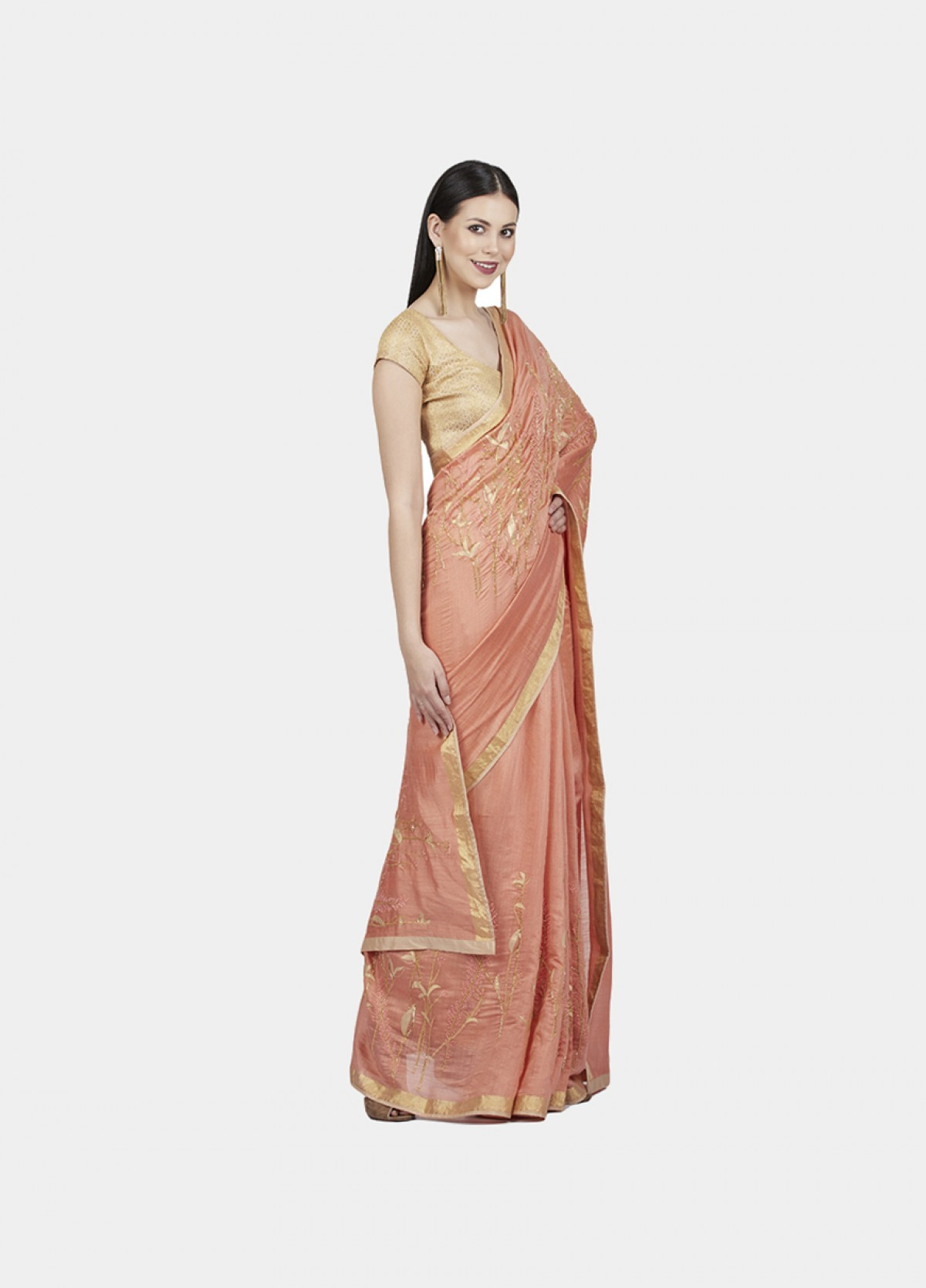 The Mystical Garden Sari