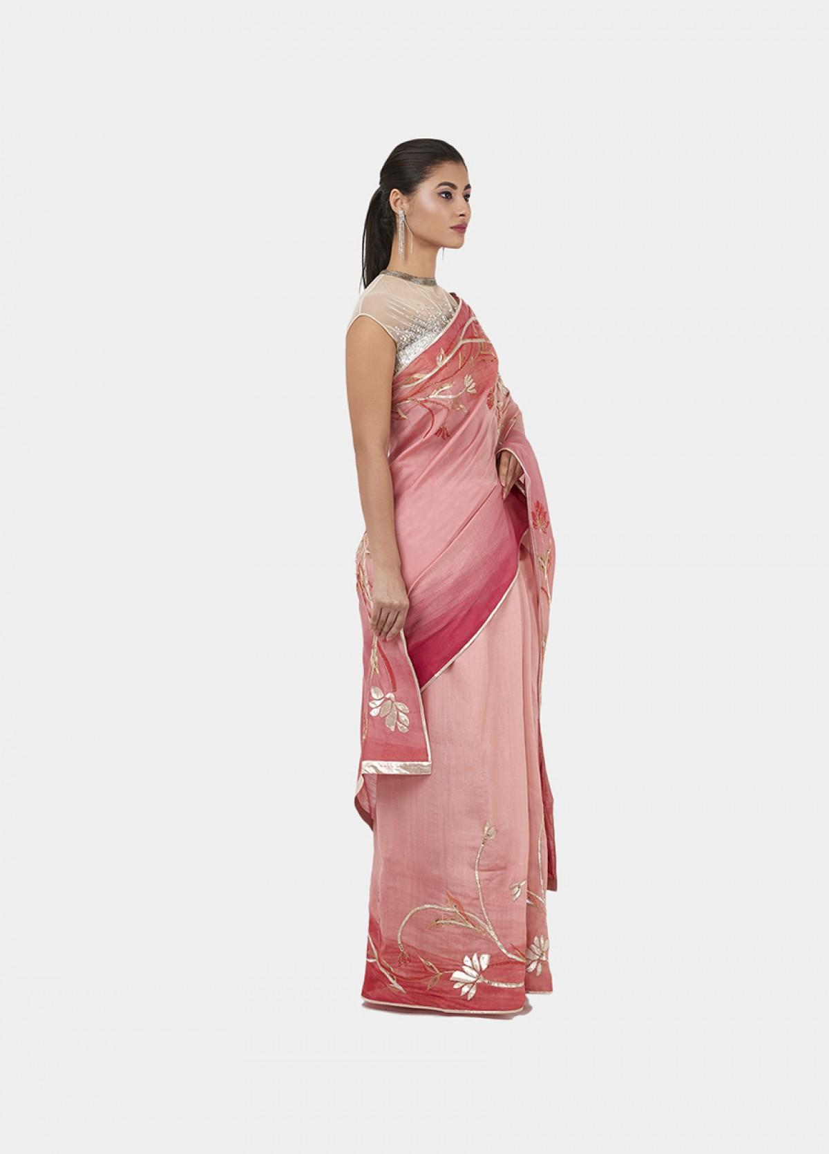 The Lotus Art Sari