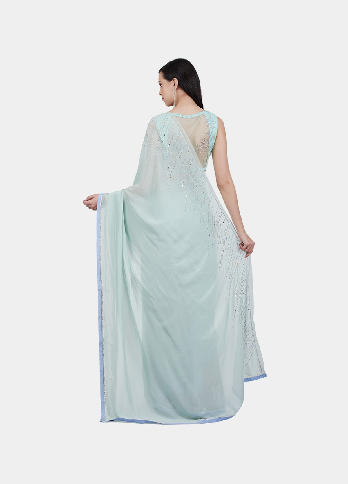 The Pearl Drops Sari