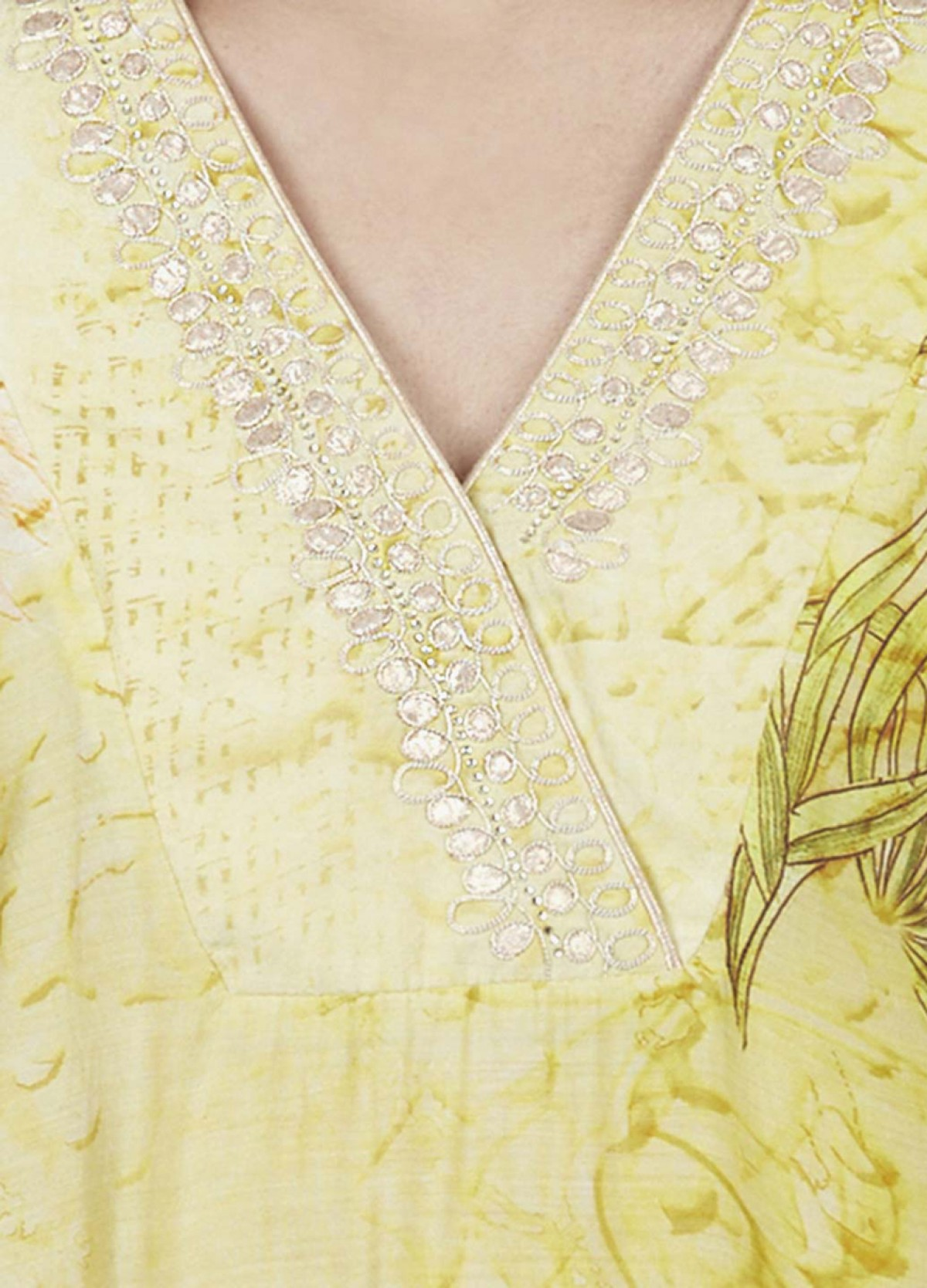 The Lily Blossoming Kurta Bottom Set