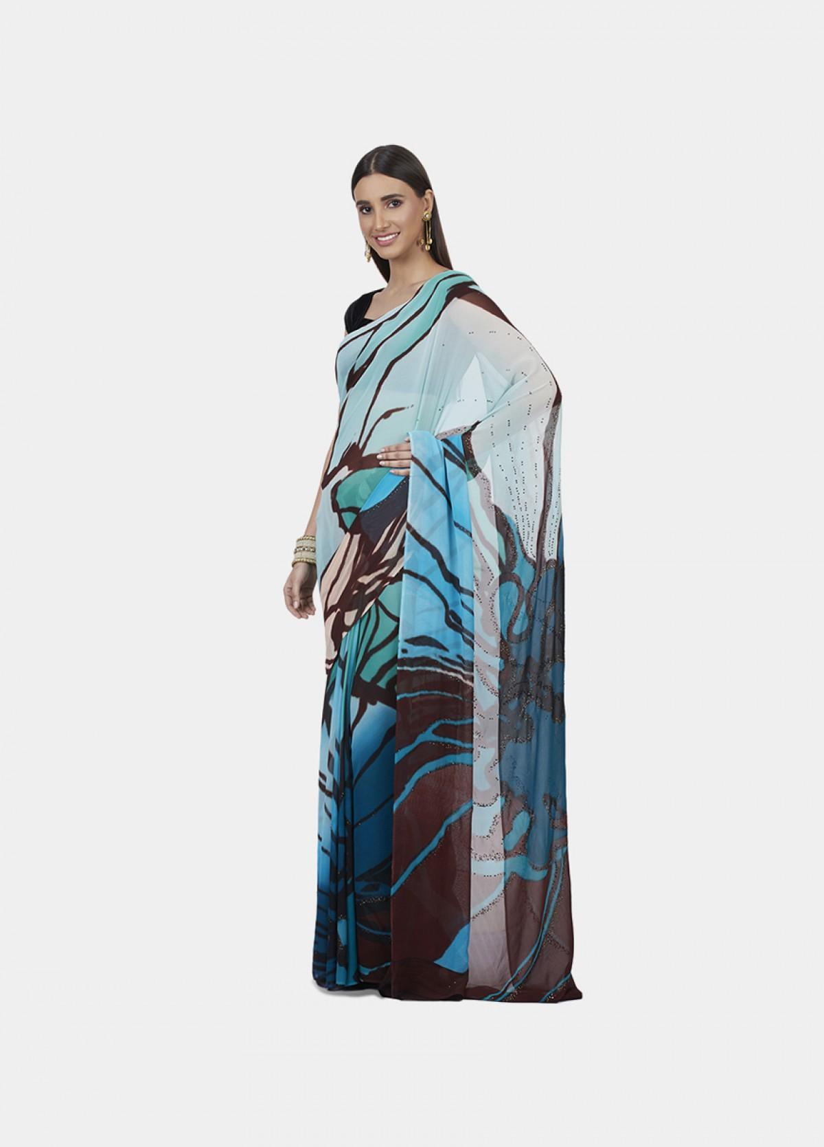 The Kesar Phool Sari