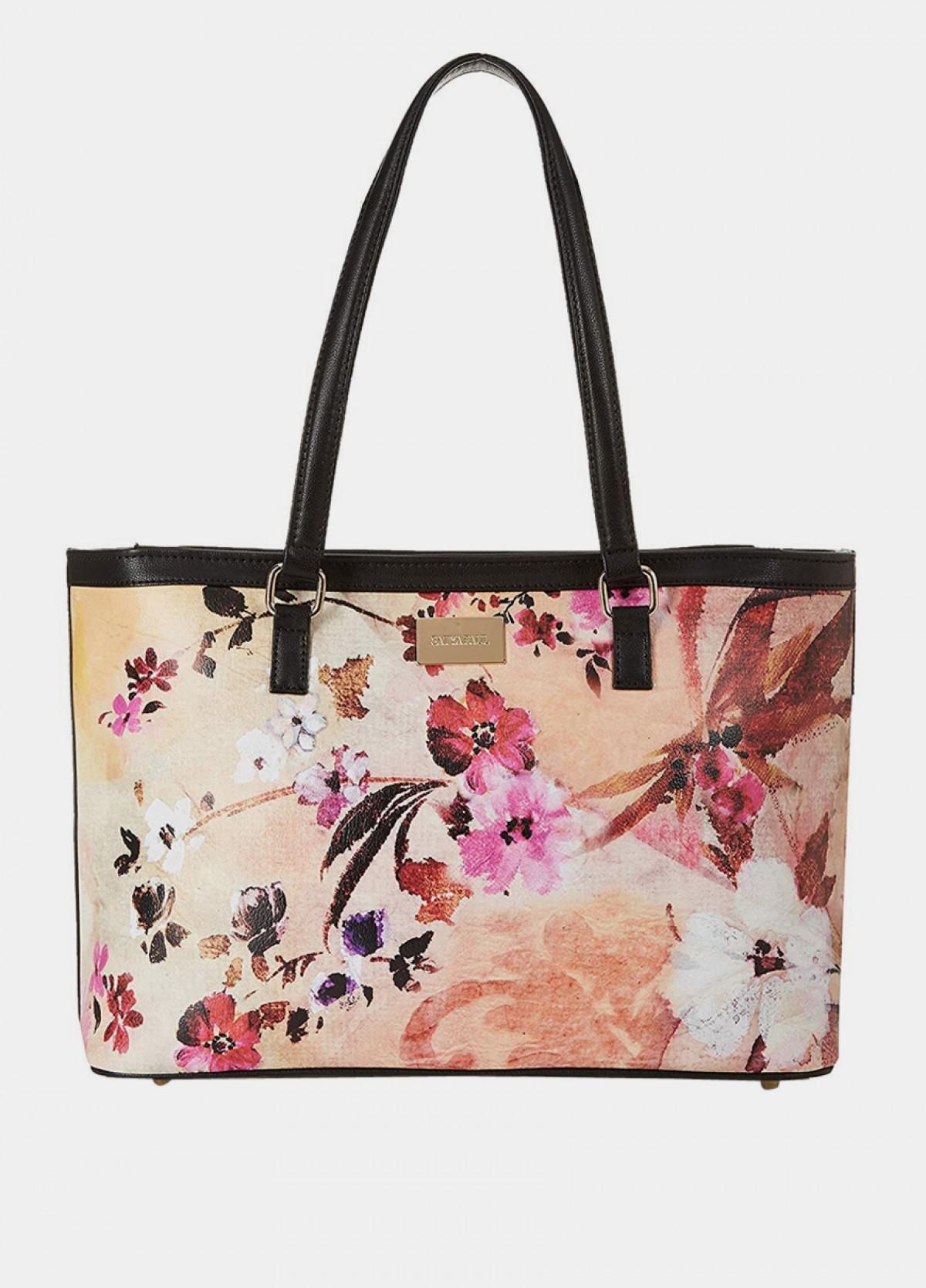 The Printed Tote Handbag