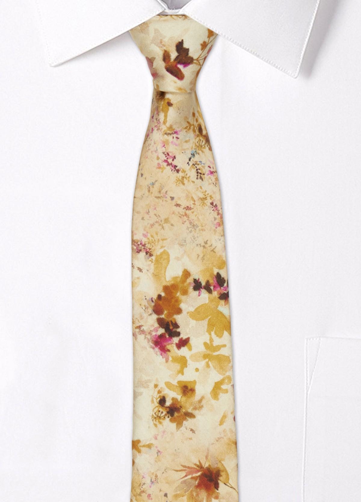 The Printed Silk Tie