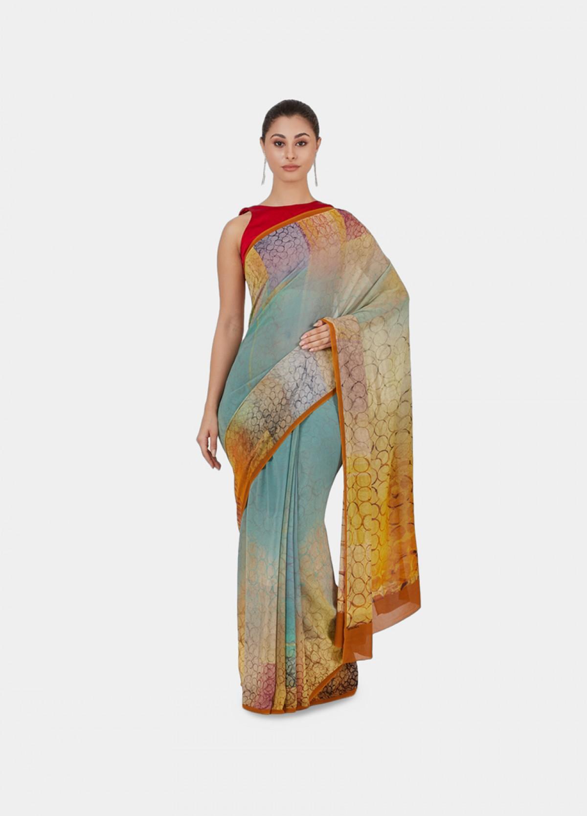 The Bubble Haze Sari