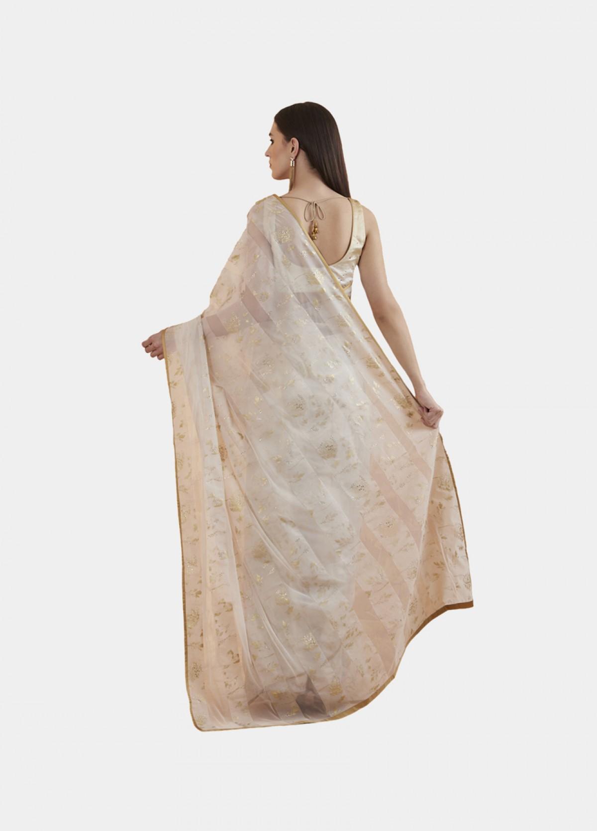 The Mogra Attar Sari