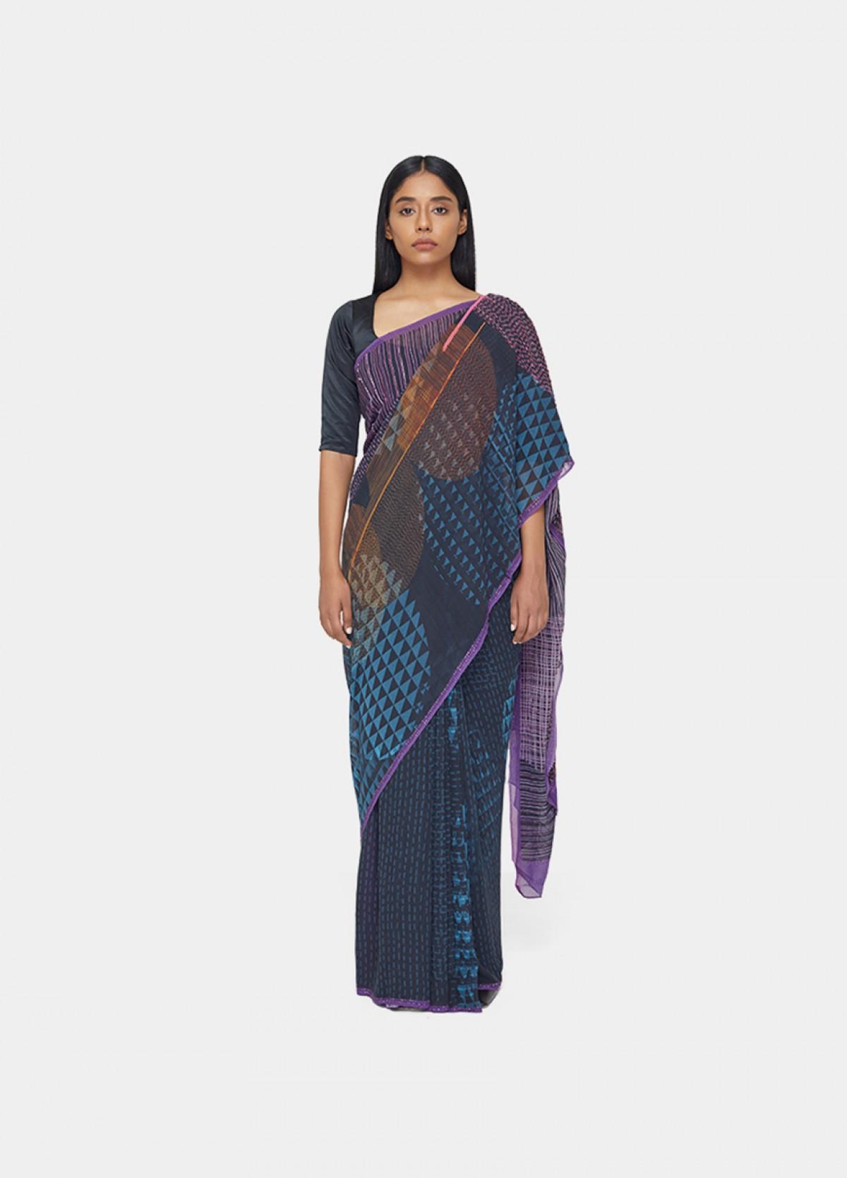 The Transition Sari