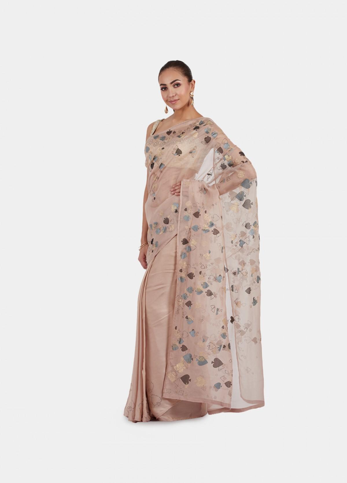 The Glitzy Spade Sari