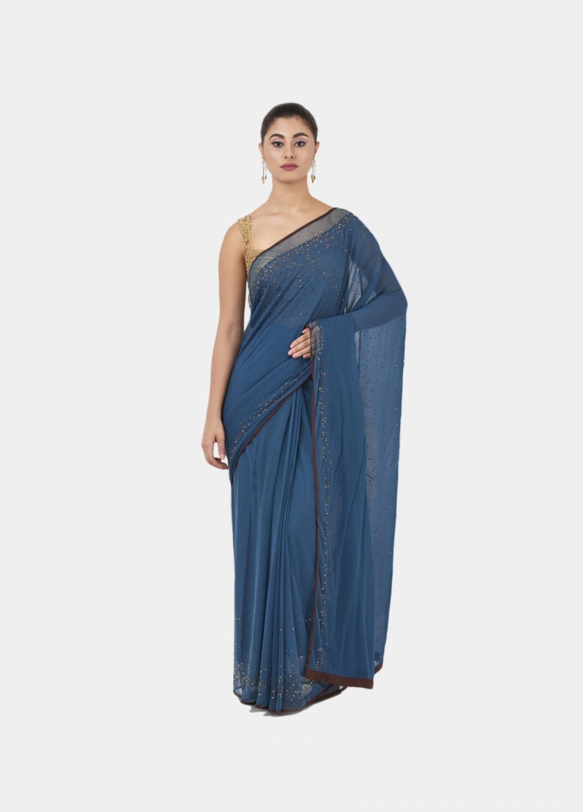 The Mahnorr(Moonlight) Sari