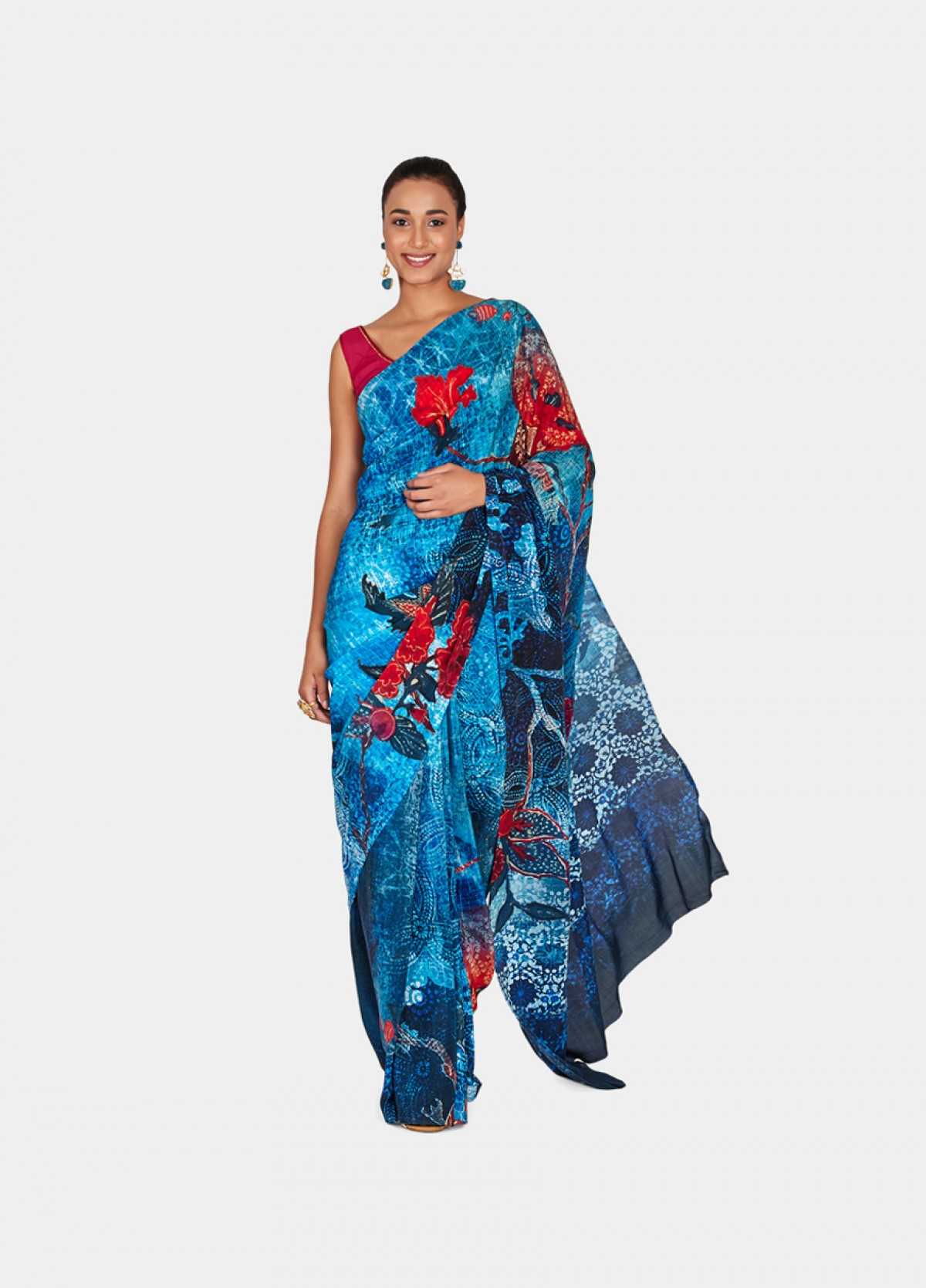 The Chintz Magic Sari