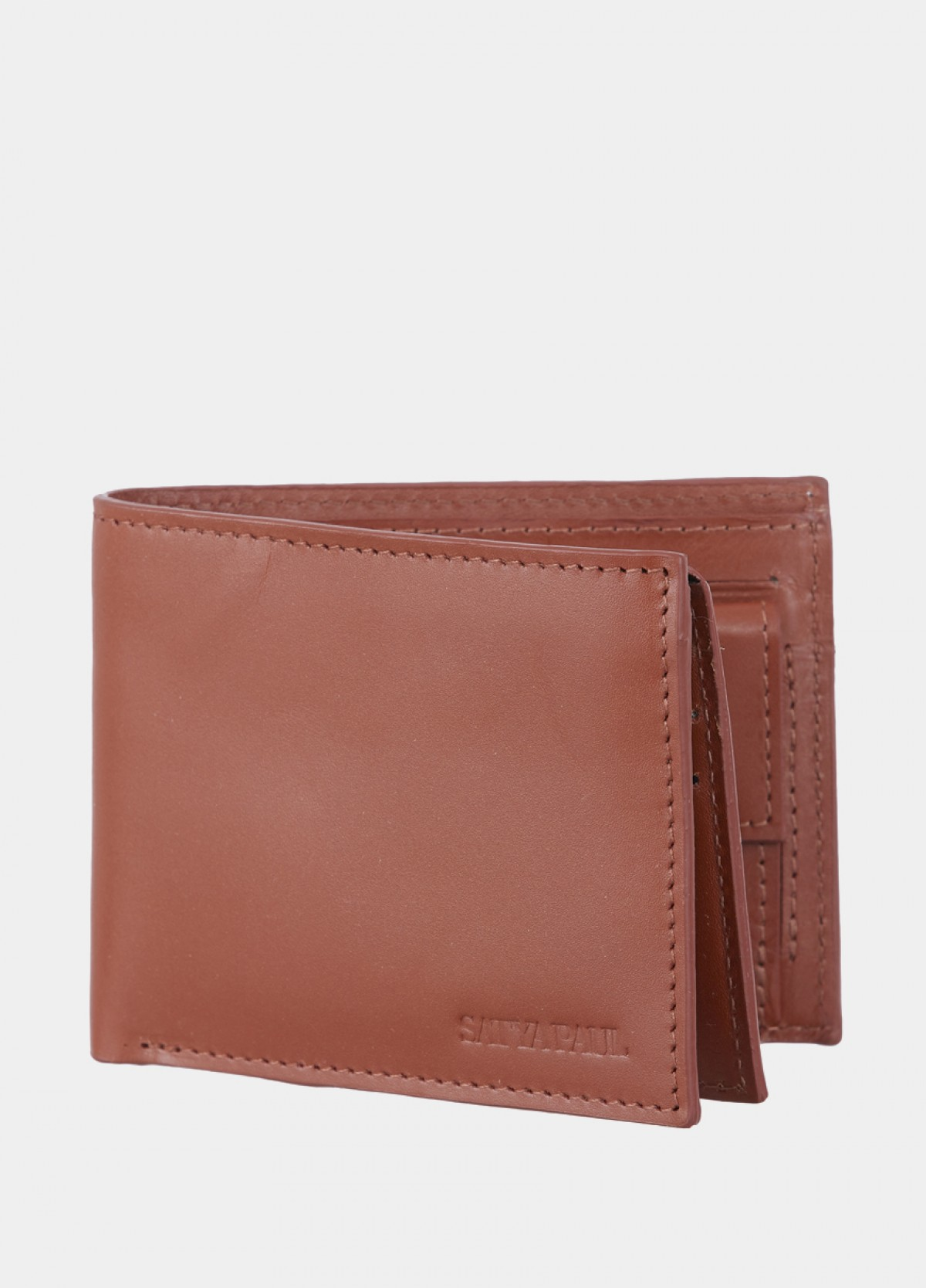 The Tan Leather Men Wallet