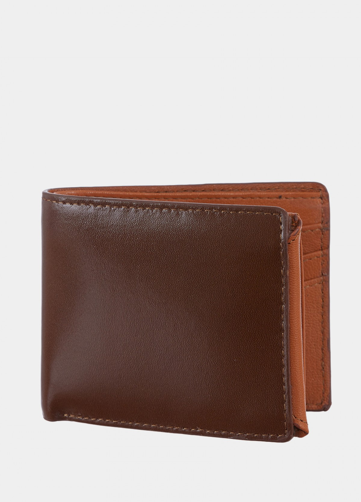 The Brown Leather Men Wallet