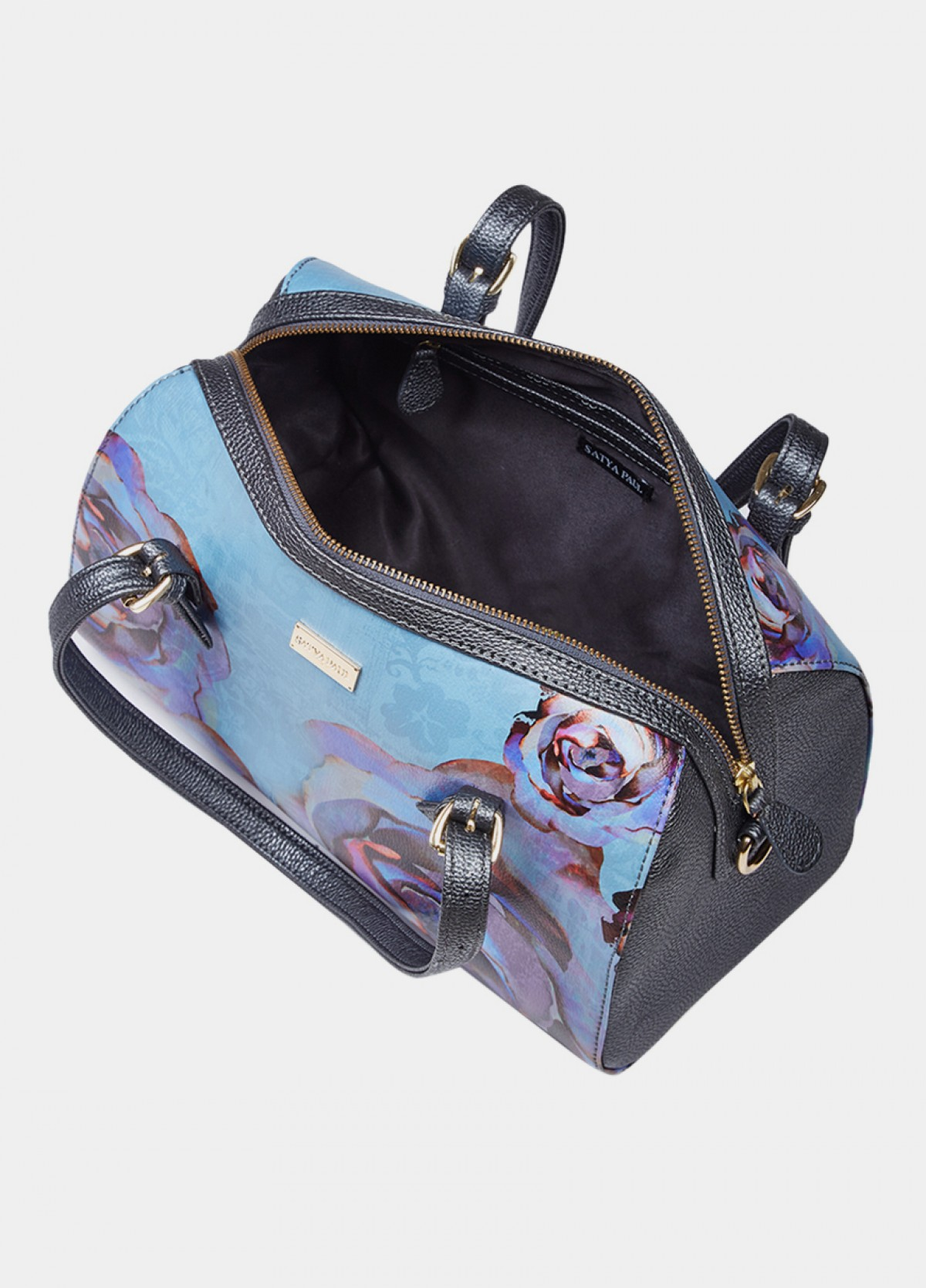 The Winter Florals Bowling Bag
