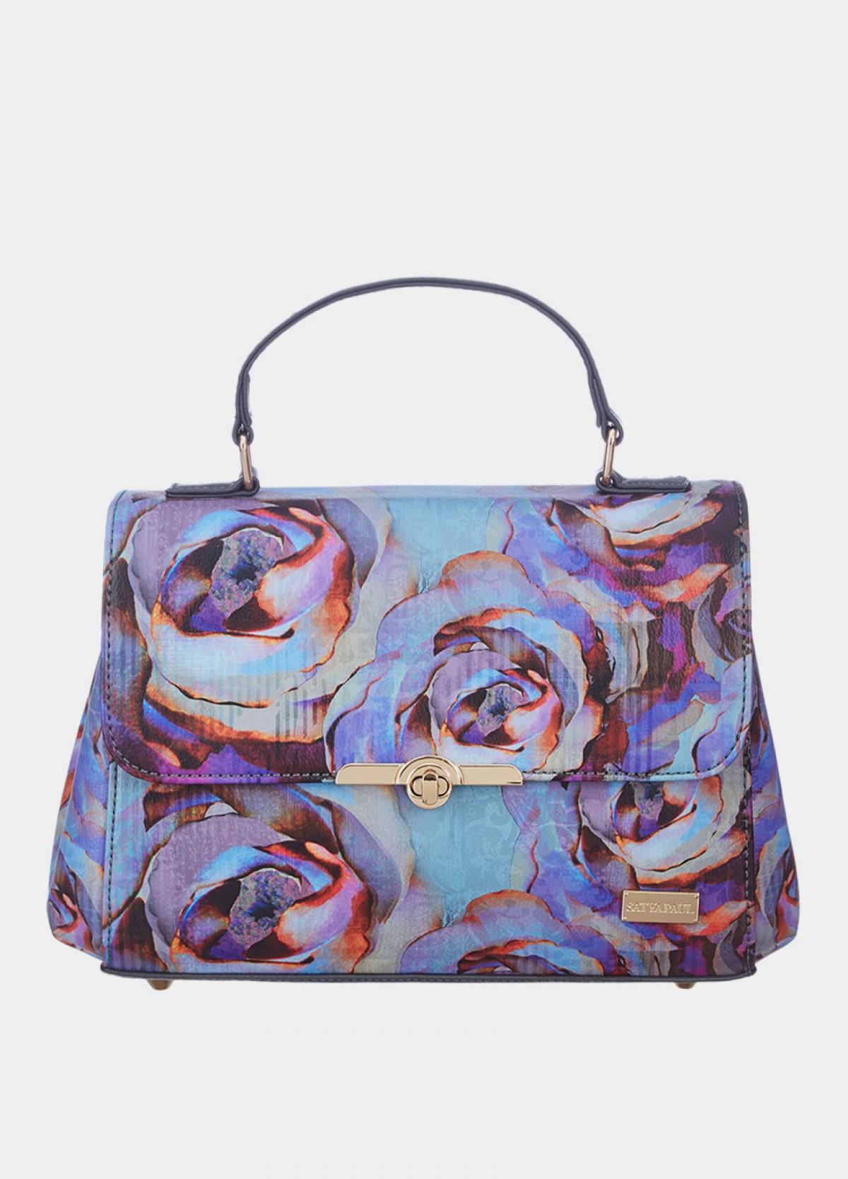 The Winter Florals Satchel Bag