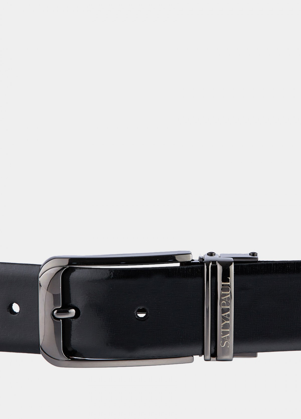 The Reversible Black and Tan Leather Belt