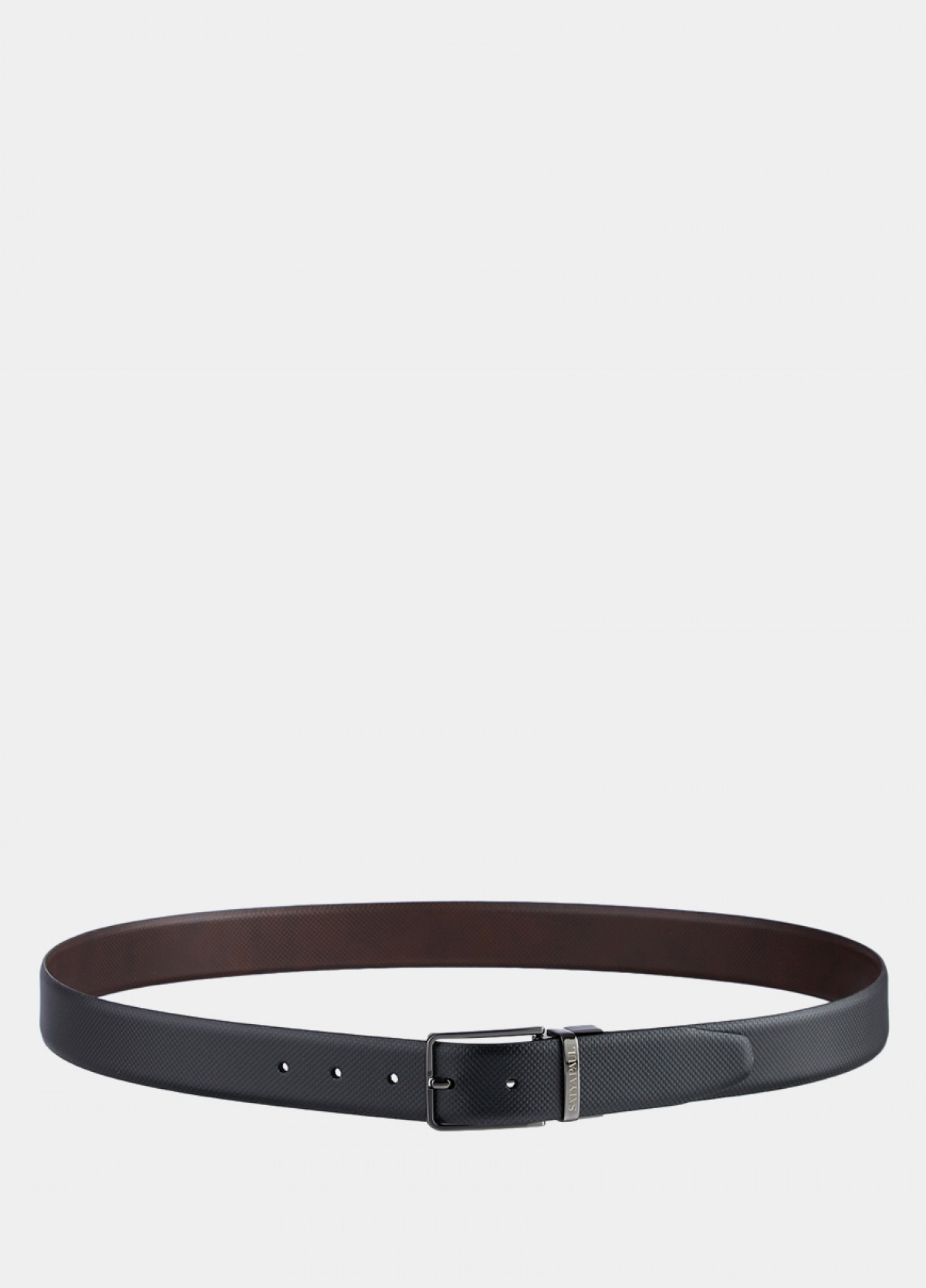 The Reversible Black And Brown Leather Belt