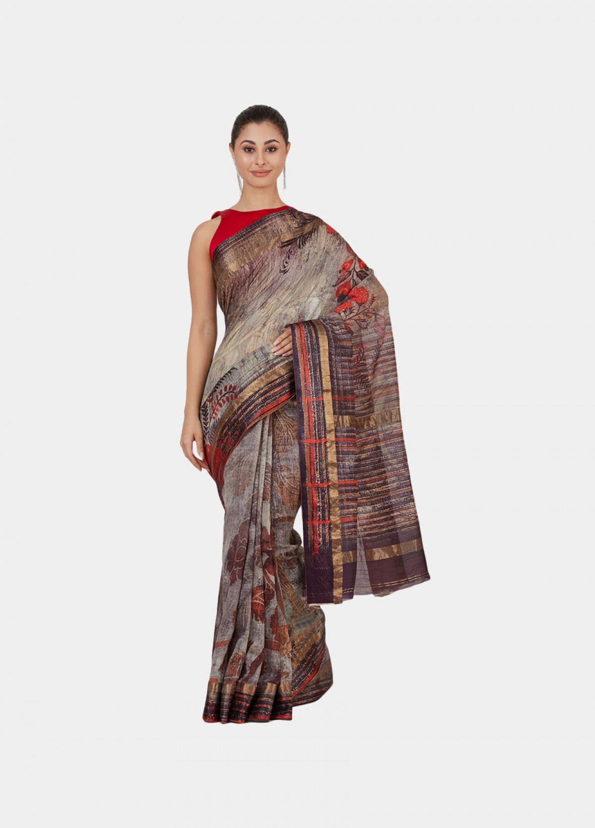 The Kalamkari Sari
