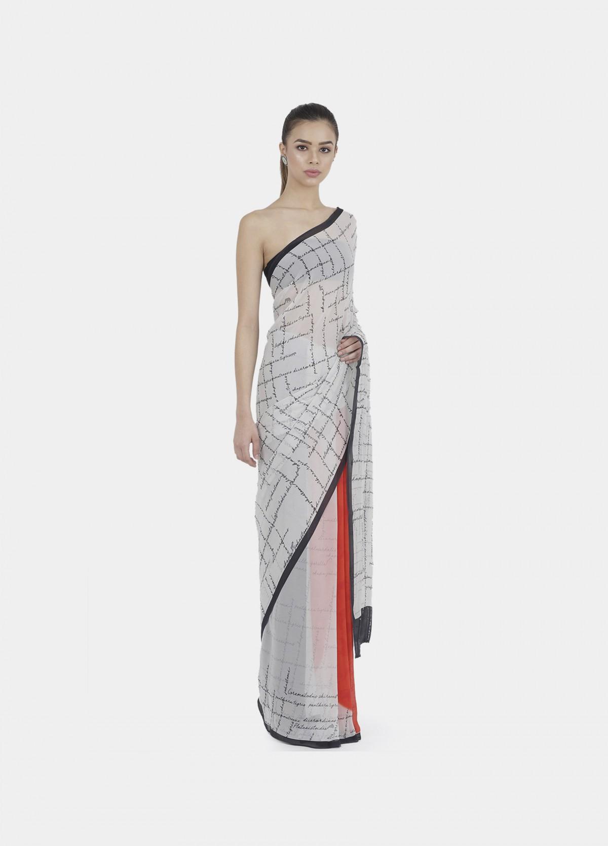 The Circle Of Life Sari