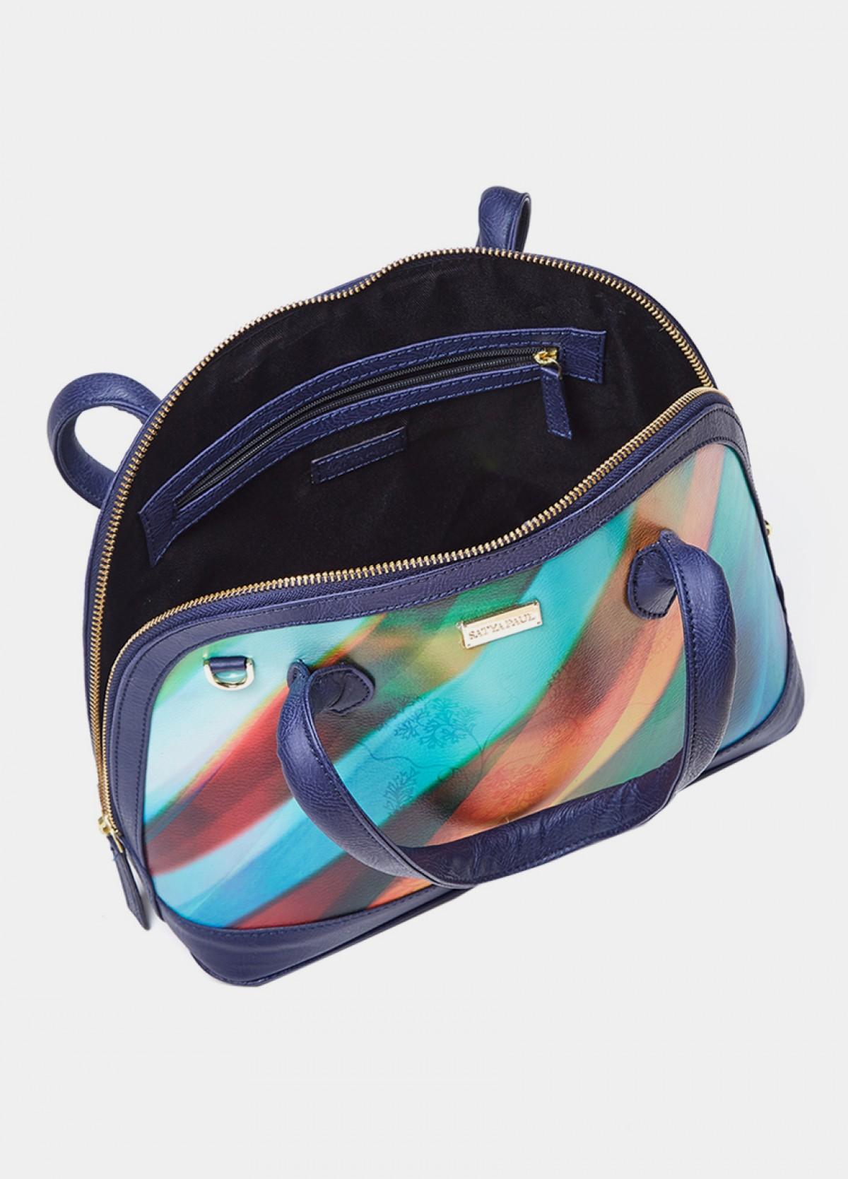 The Printed D Shape Bag