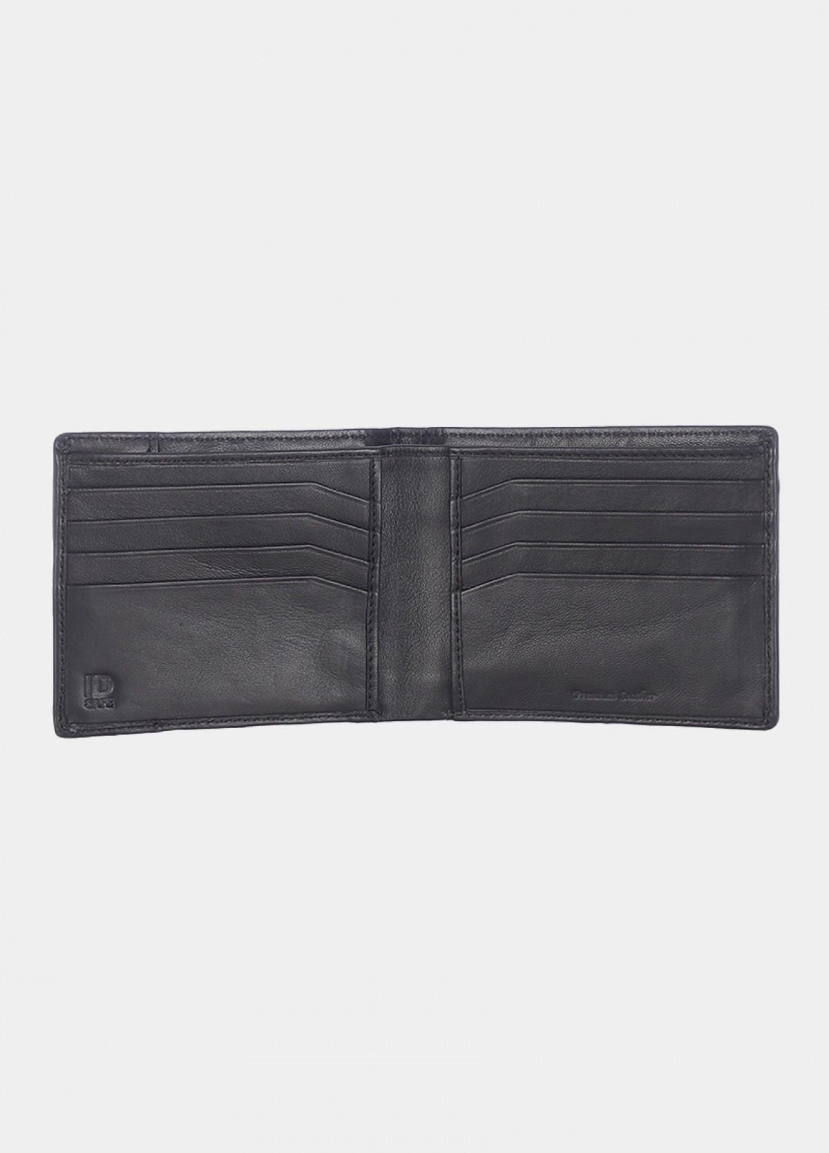 Him & The City Men's Black Bi-Fold Wallet
