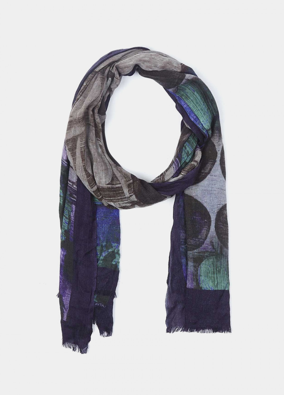 The Floral Streaks Shawl