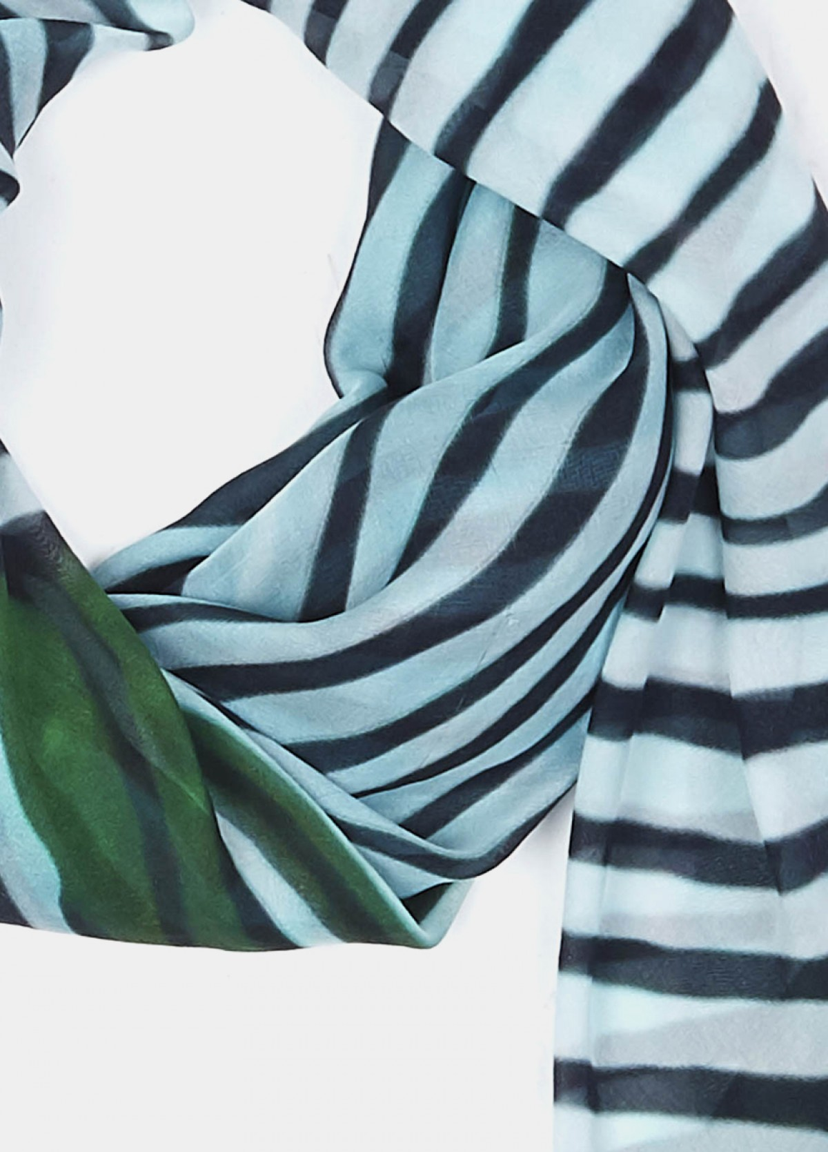 The Stripe Play Printed Scarf