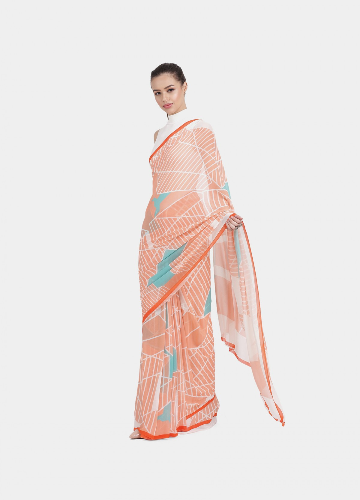 The Constellation Sari
