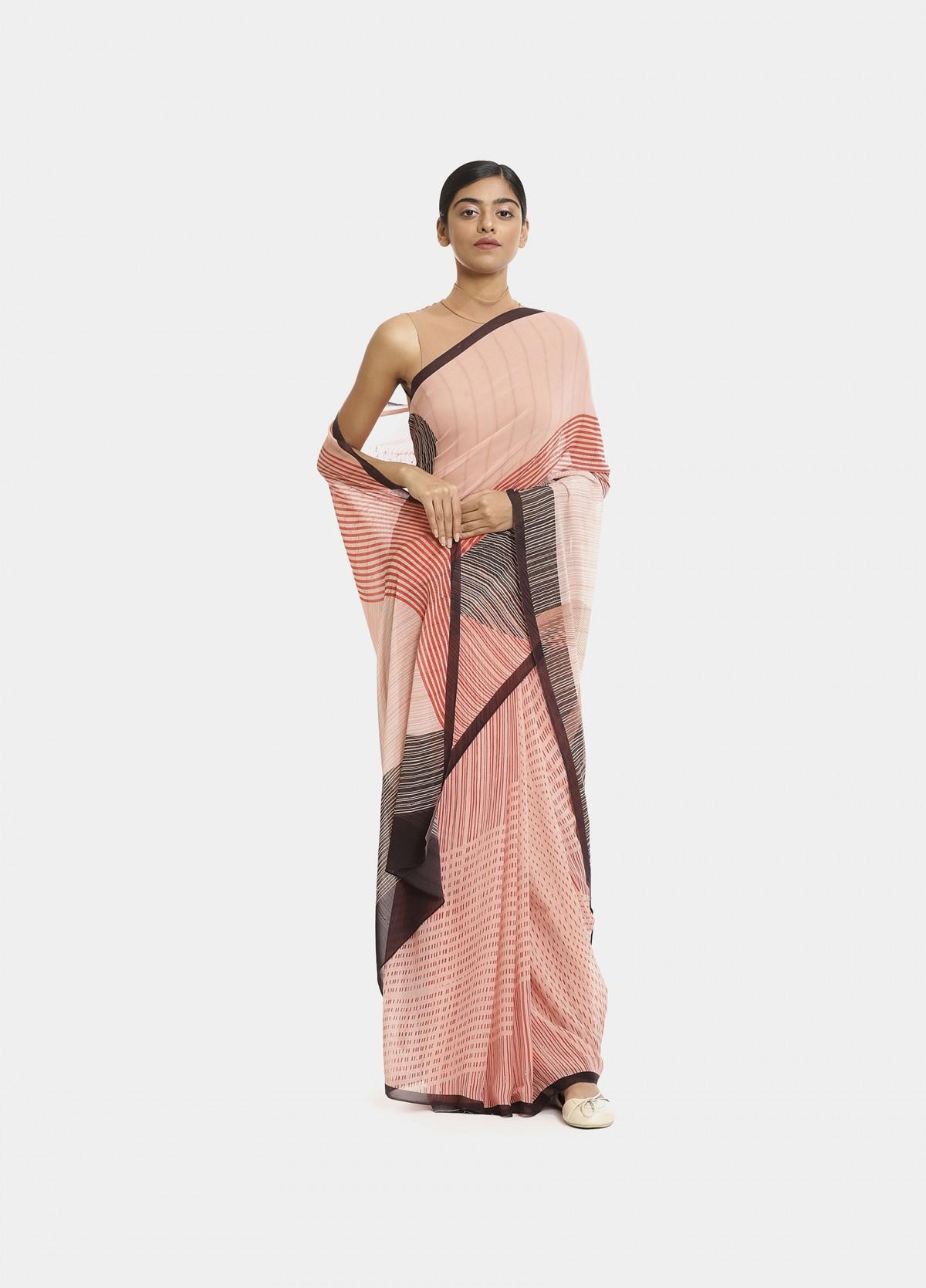 The Dusk Sari