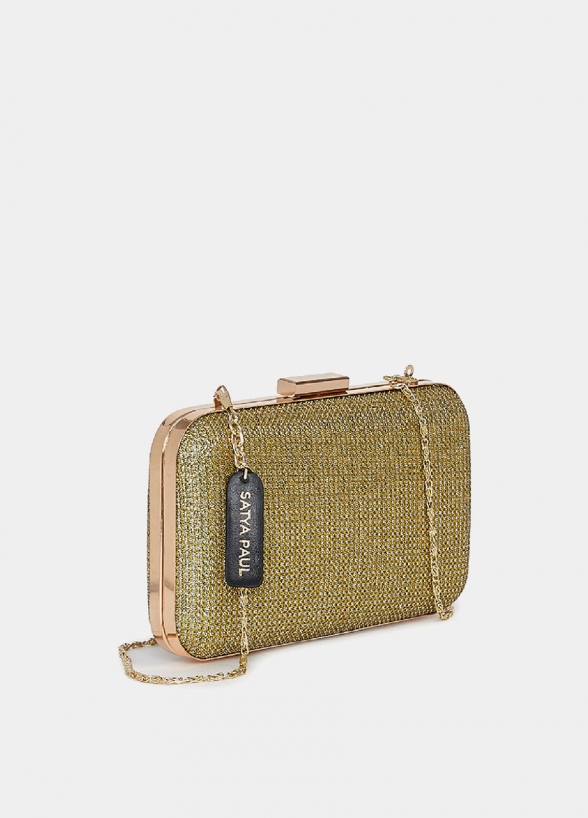 The Gold Embellished Clutch