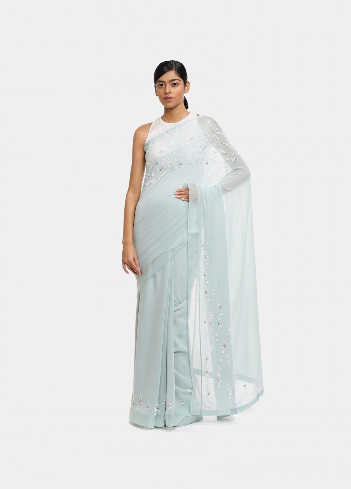 The Ocean Spray Sari