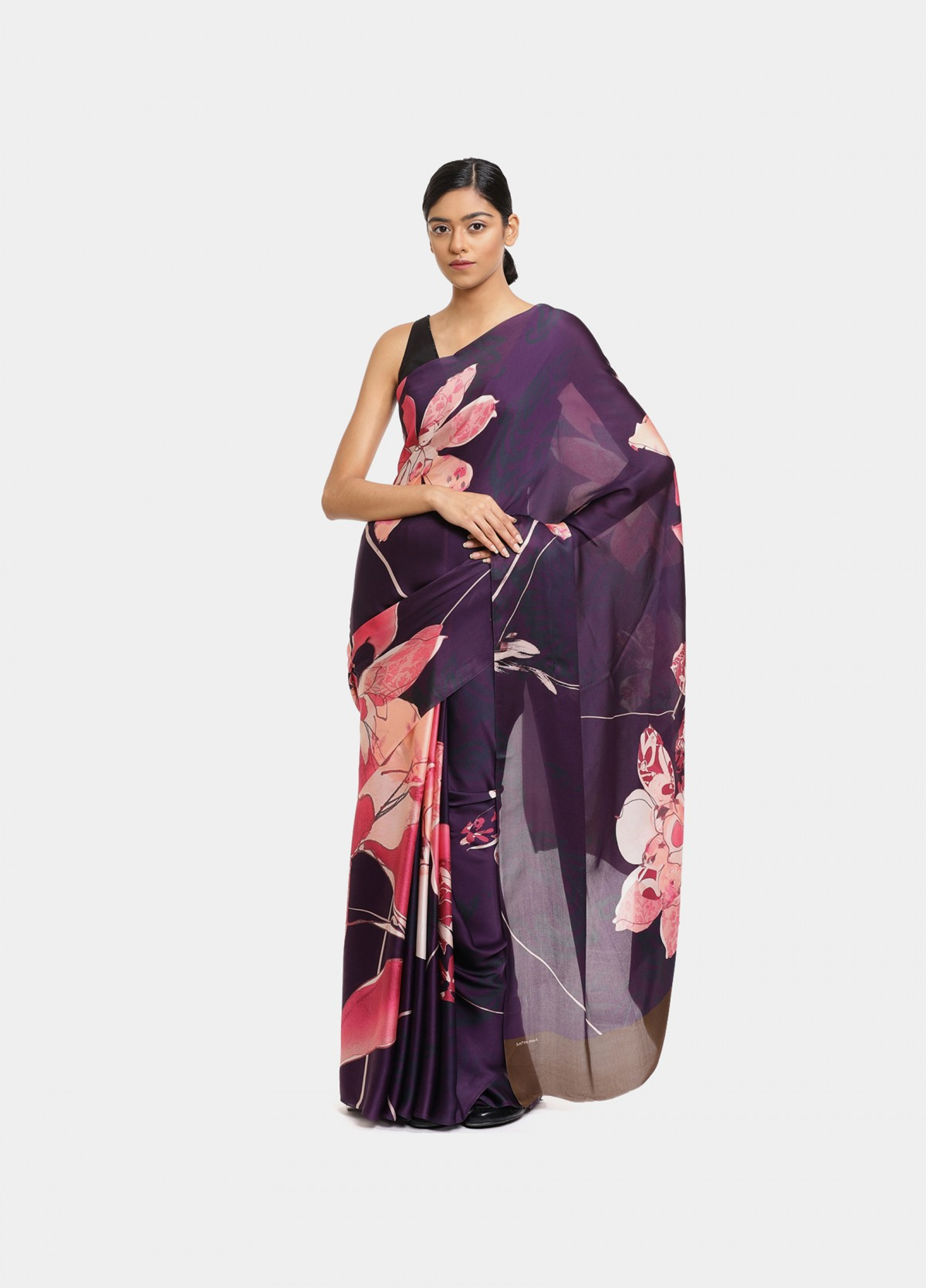 The Floral Trail Sari