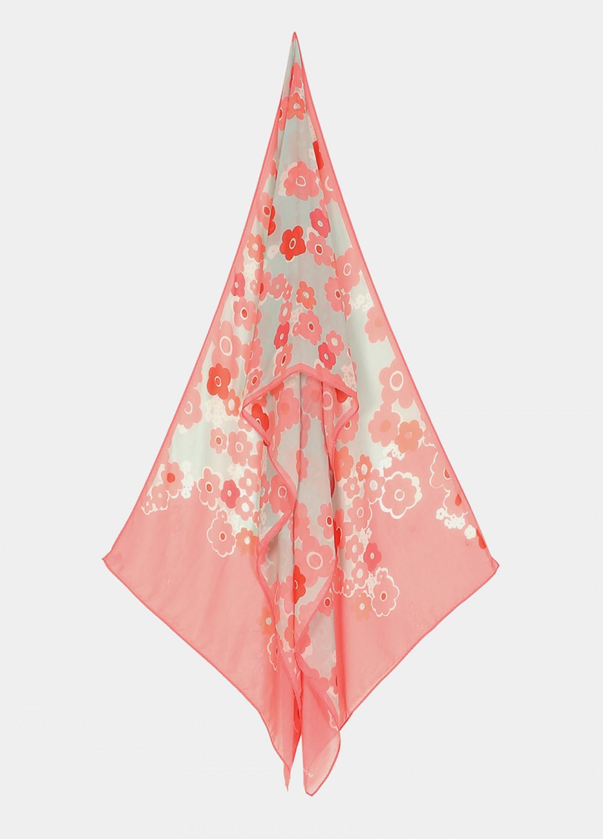 The Furano Silk Flat Chiffon Stole