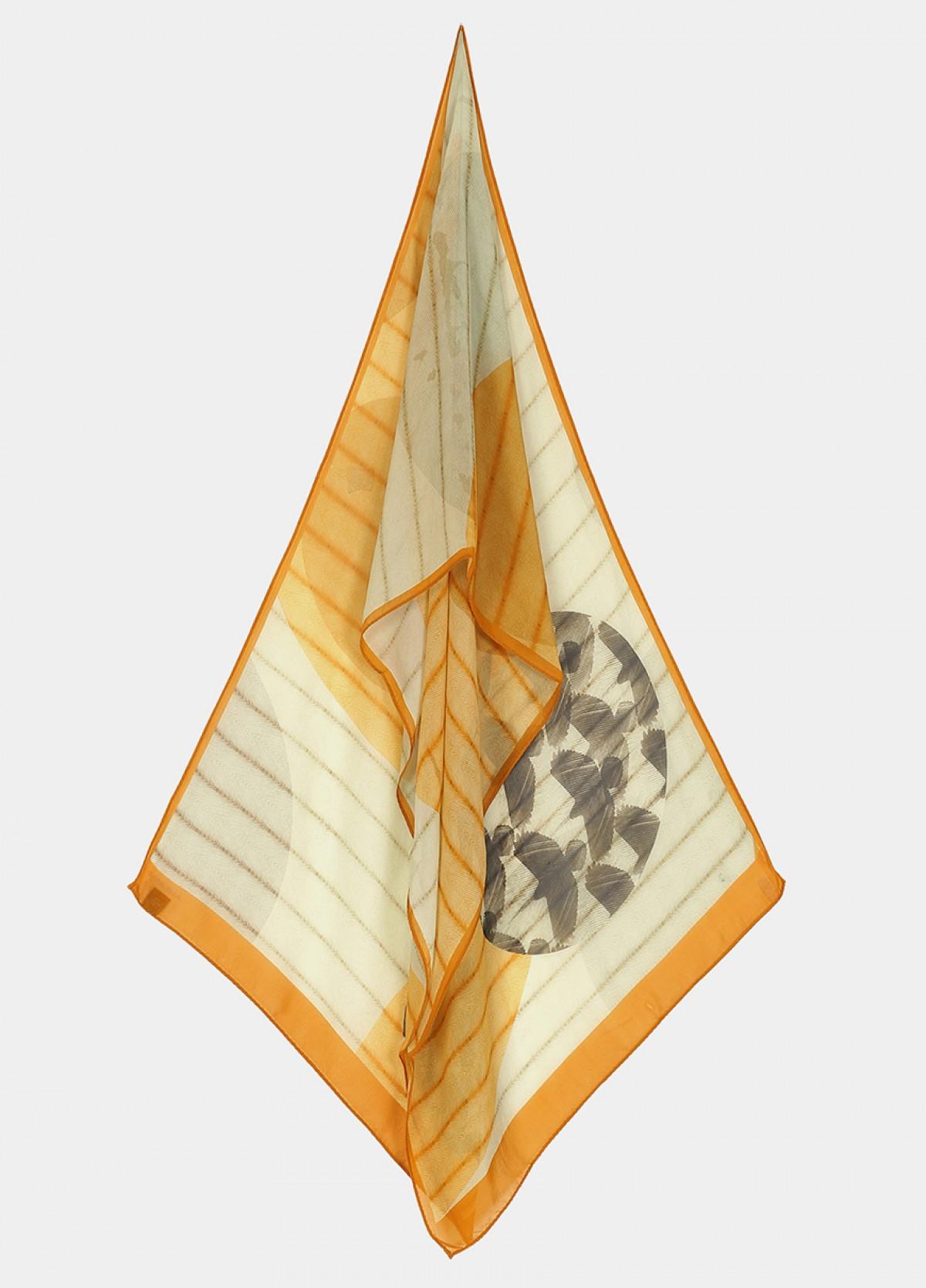 The Udaan Silk Flat Chiffon Stole