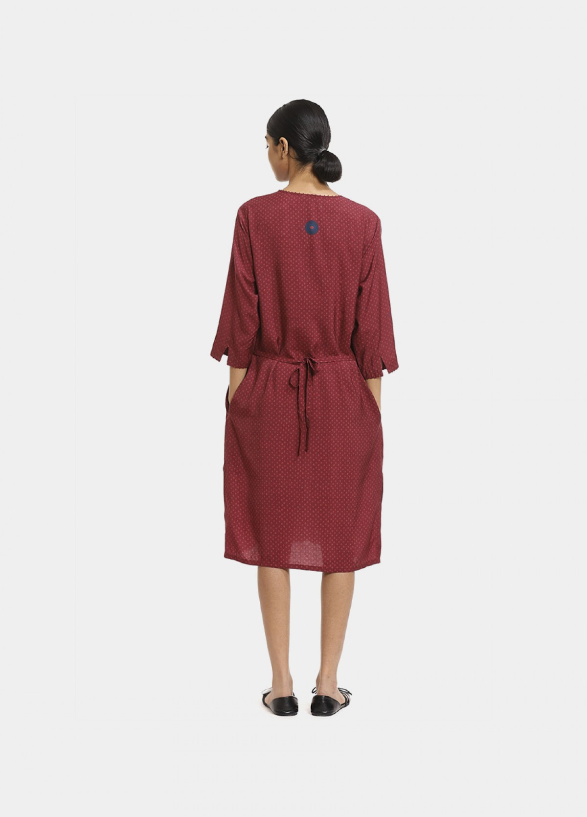 The Boond Red Maroon Dress