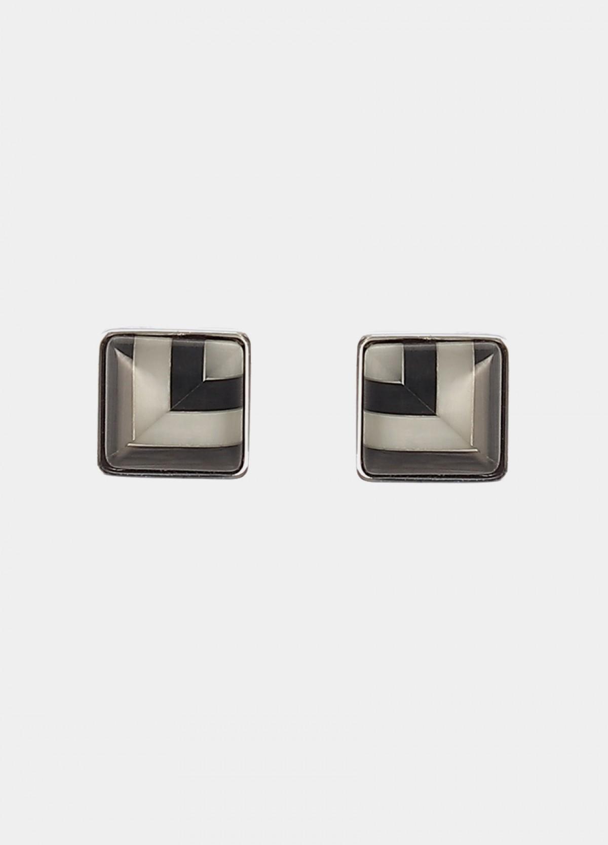 Silver Metal Cufflinks