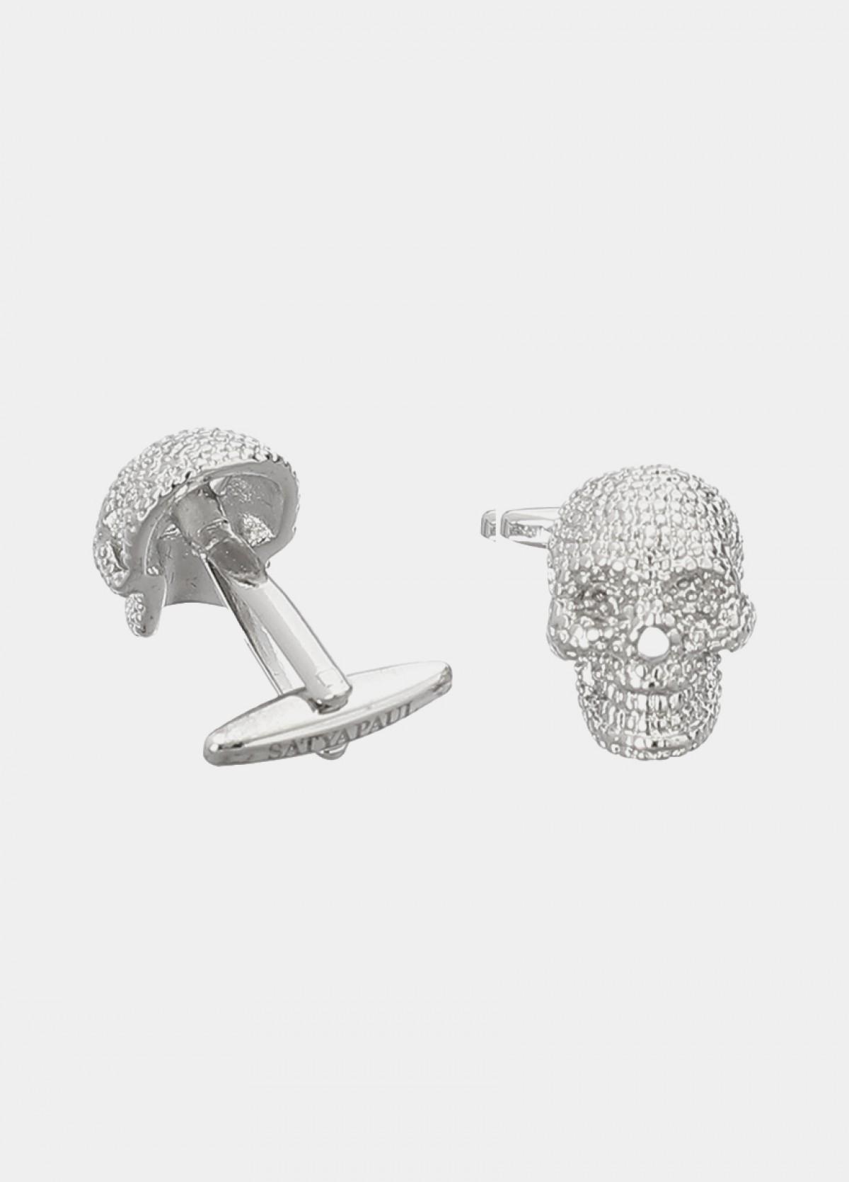 Nickel Shiny Metal Cufflinks