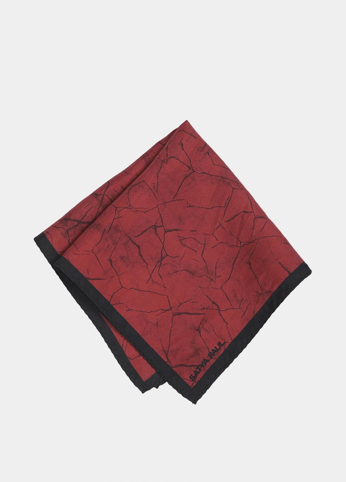The Printed Silk Tie Pocket Square Cufflink Set