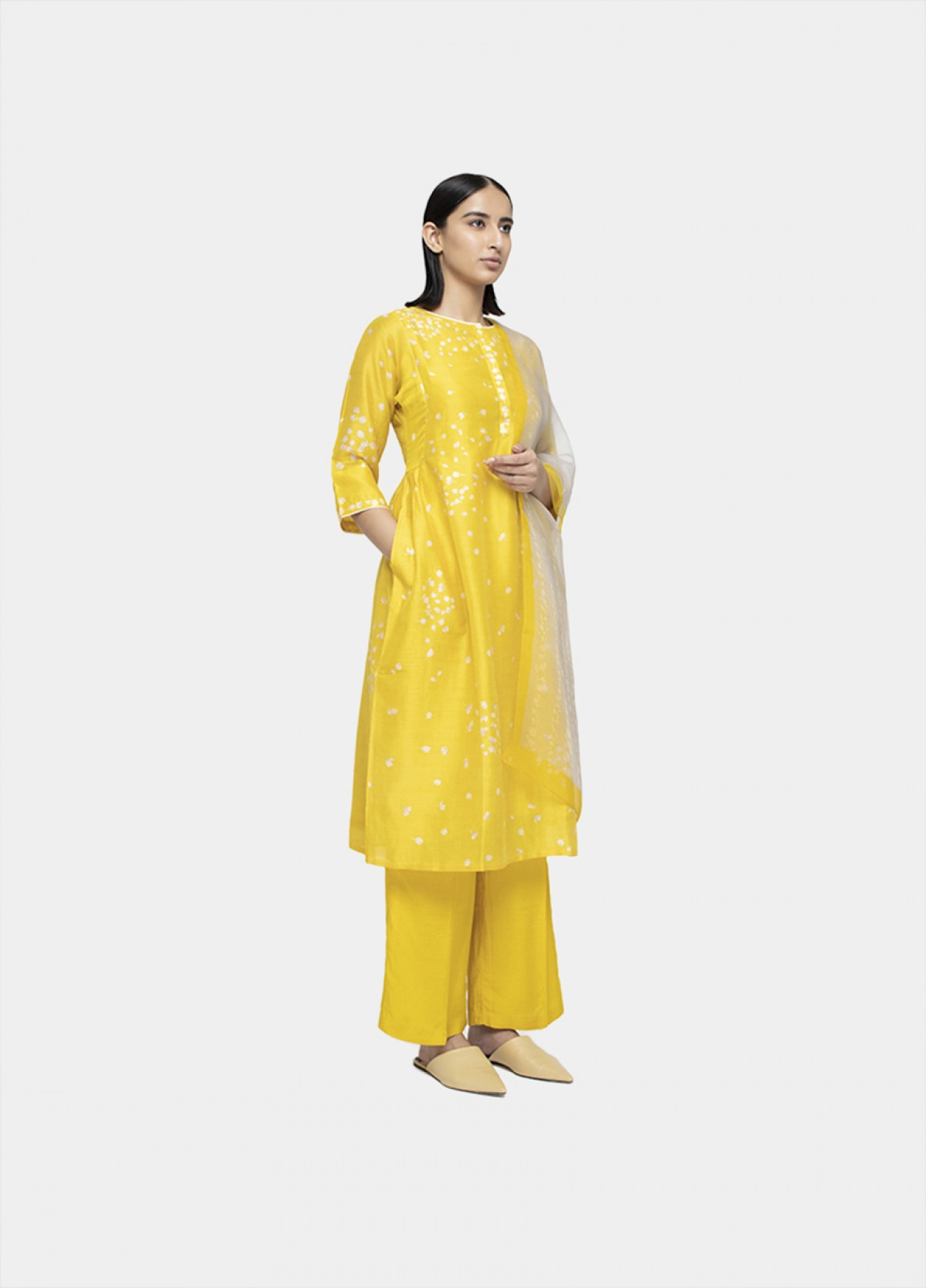 The Mogra Kurta Set