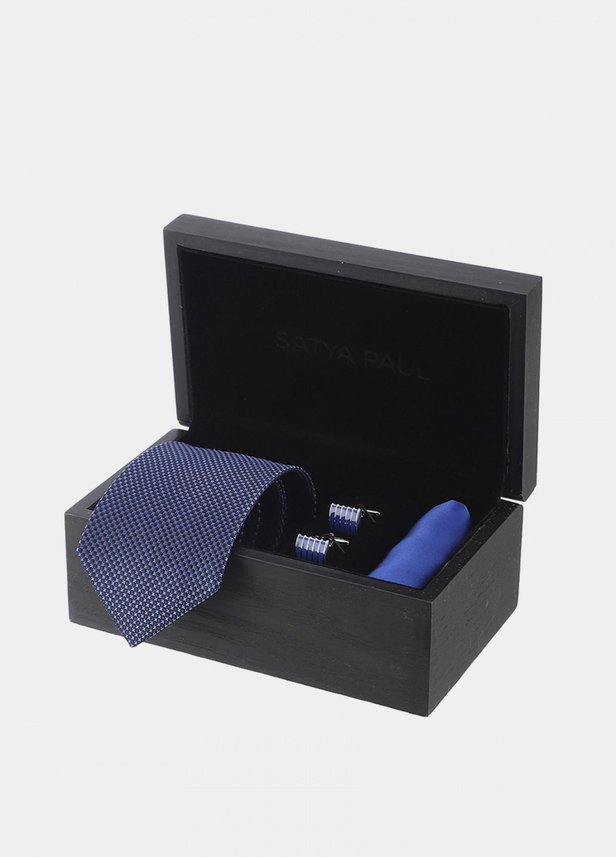 The Silk Tie, Cufflink & Pocket Square Gift Set