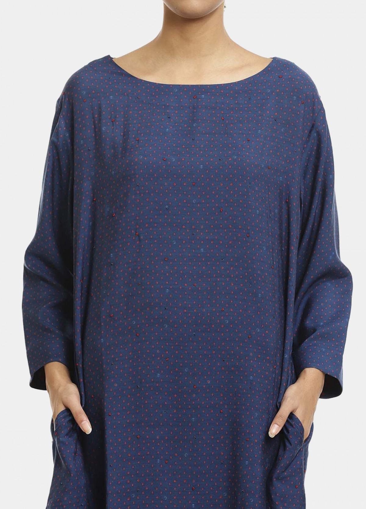 The Boond Indigo Blue Dress