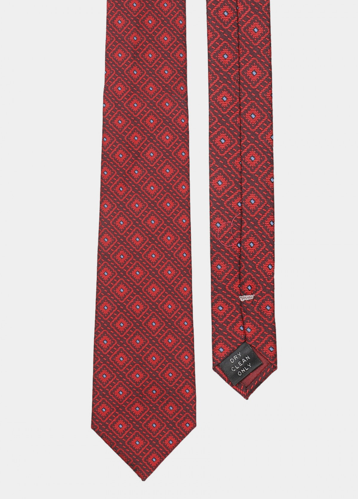The Red Woven Tie