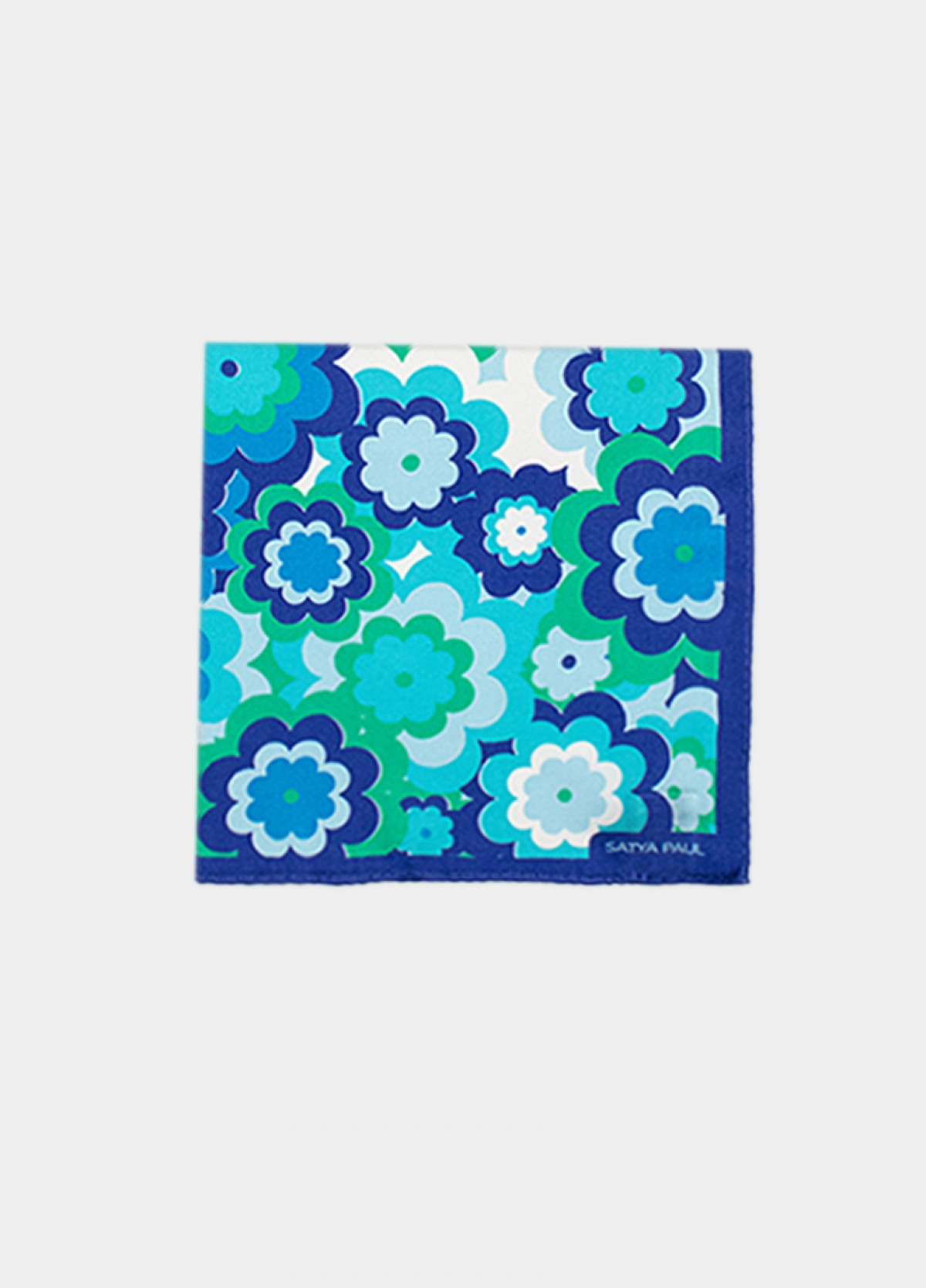 The Valley of Flowers Pocket Square