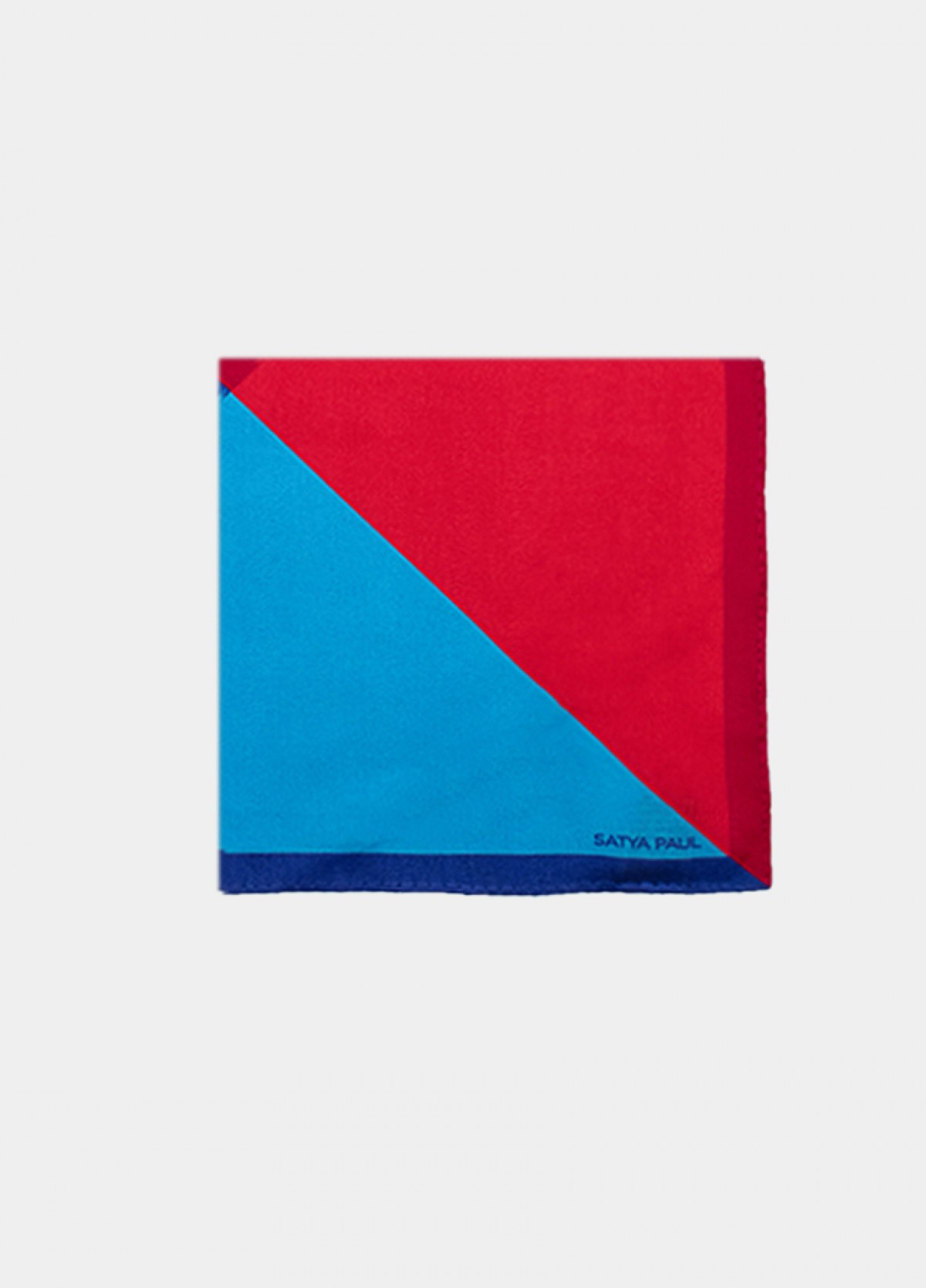 Four Shaded Silk Satin Pocket Square
