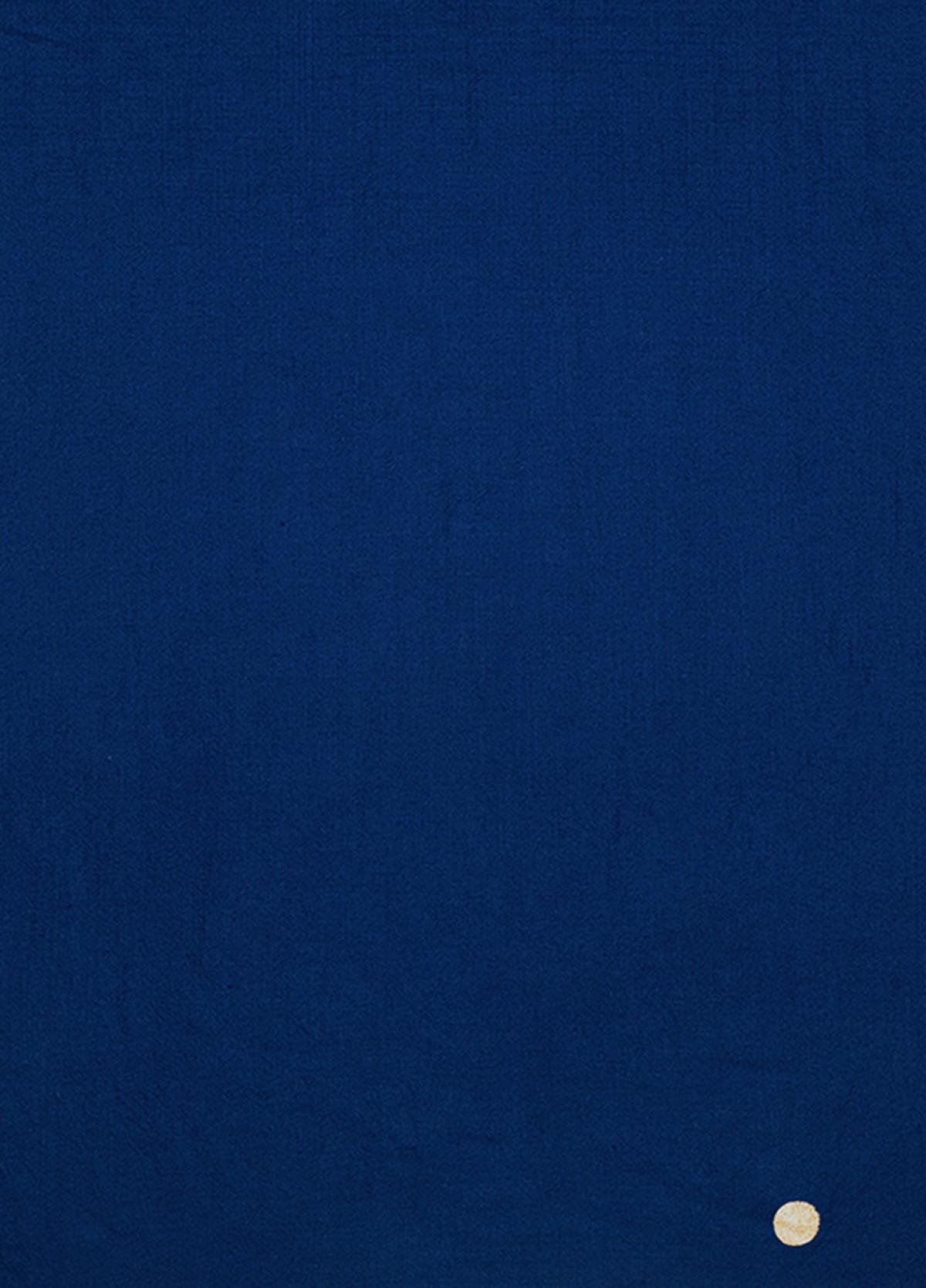 The Indigo Blue Cashmere Stole