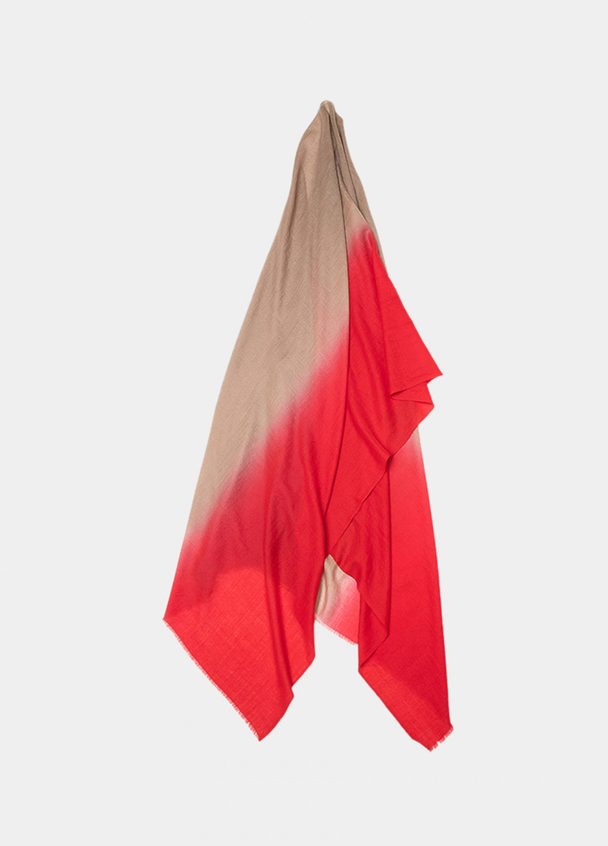 The Red Cashmere Stole