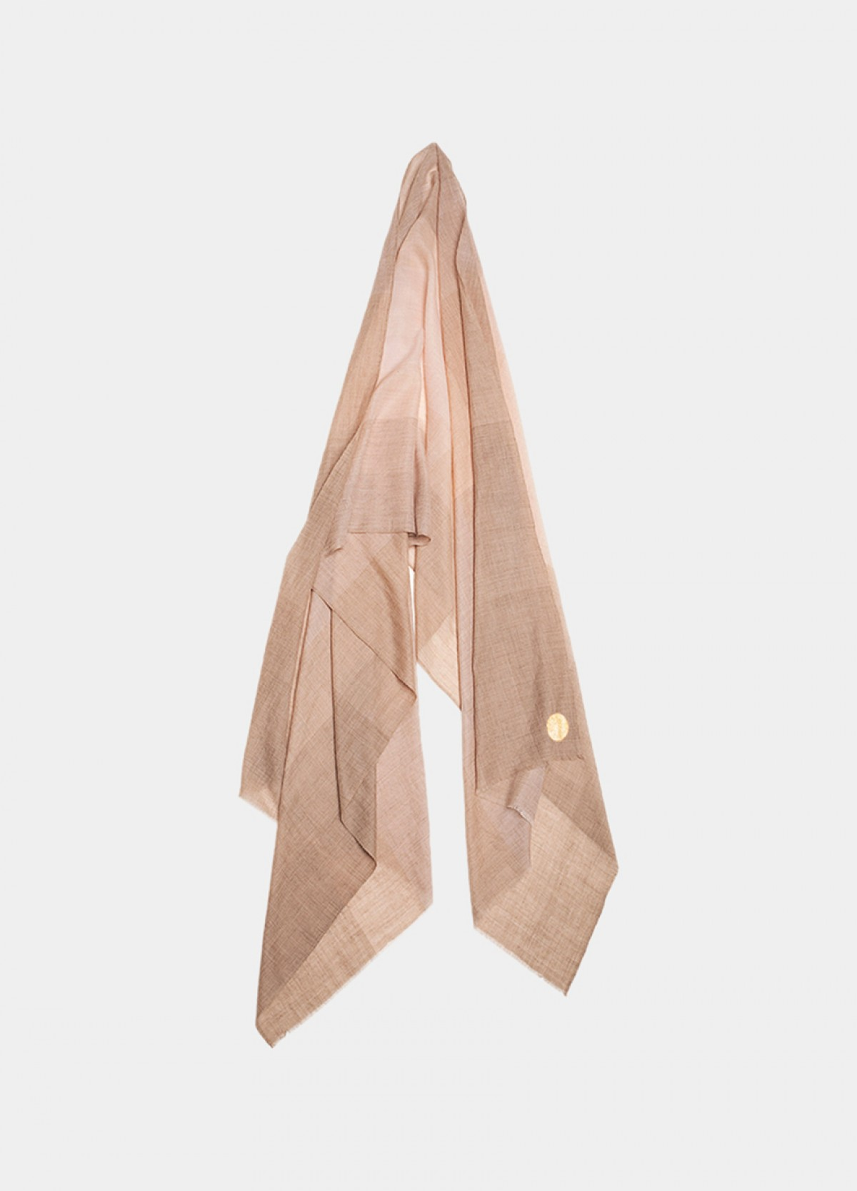 The Olive Green Cashmere Stole